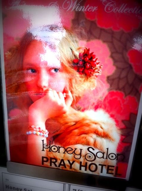 *HONEY SALON&PRAY HOTEL展示会*
