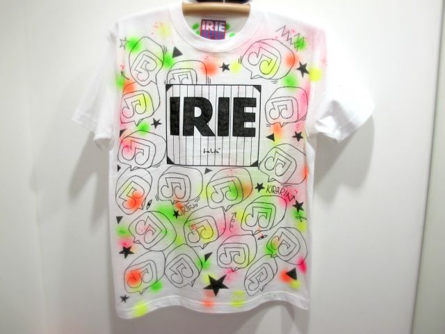 IRIE by Irie life 3D TEE painted by KIRARIN