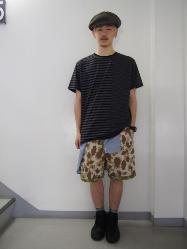 CAMO EAZY SHORTS着回しstyling紹介