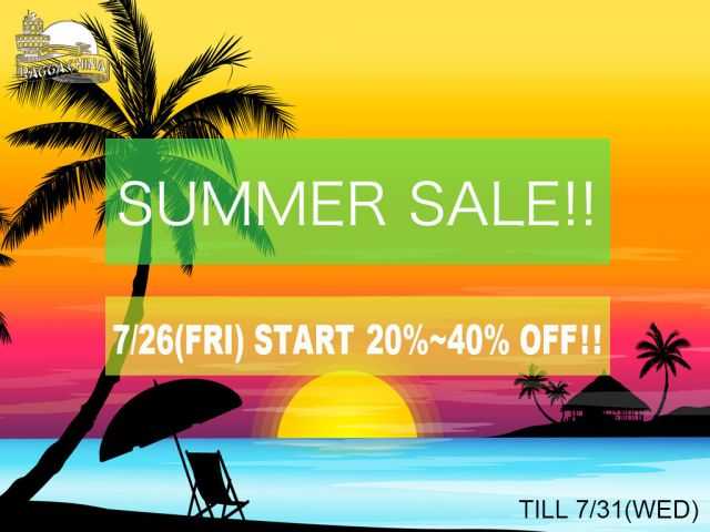 SUMMER SALE AGAIN!!