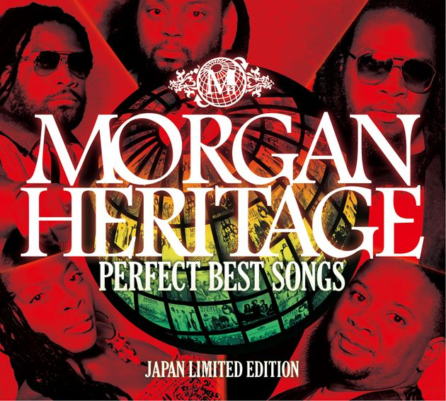 "MORGAN HERITAGE""PERFECT BEST SONGS""JAPAN LIMITED EDITION"