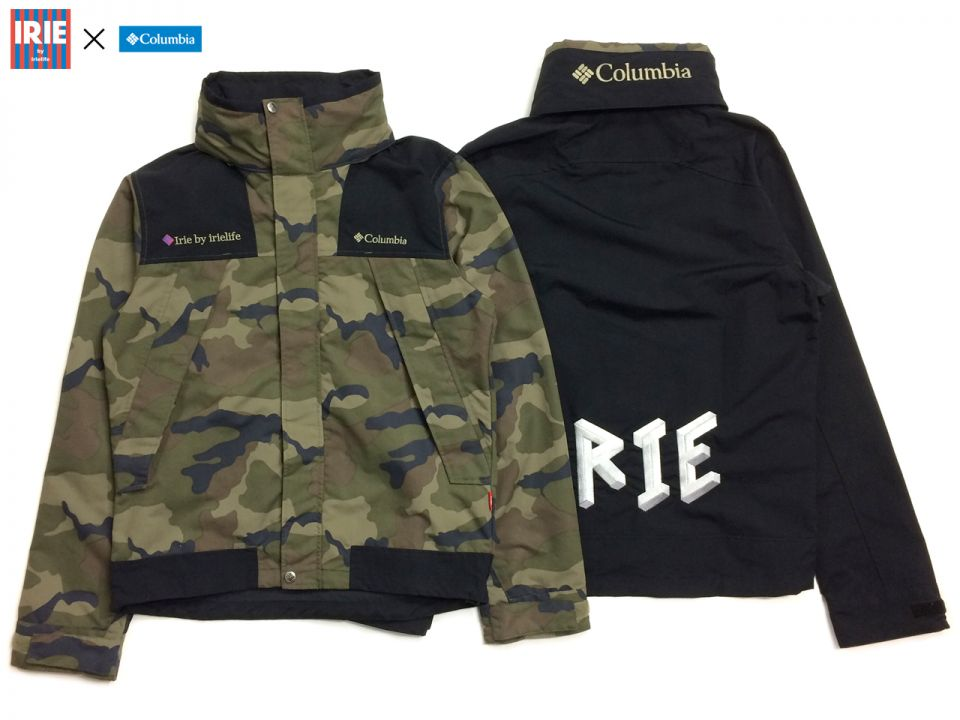 IRIE by irielife × Columbia COLLABORATION ITEMS