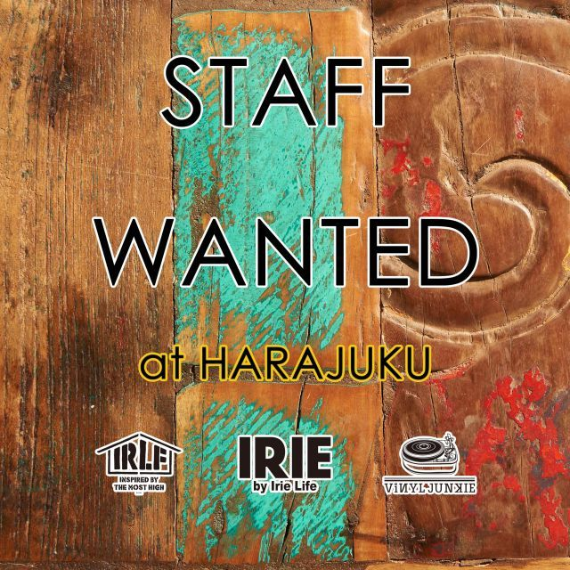 ☆STAFF WANTED☆