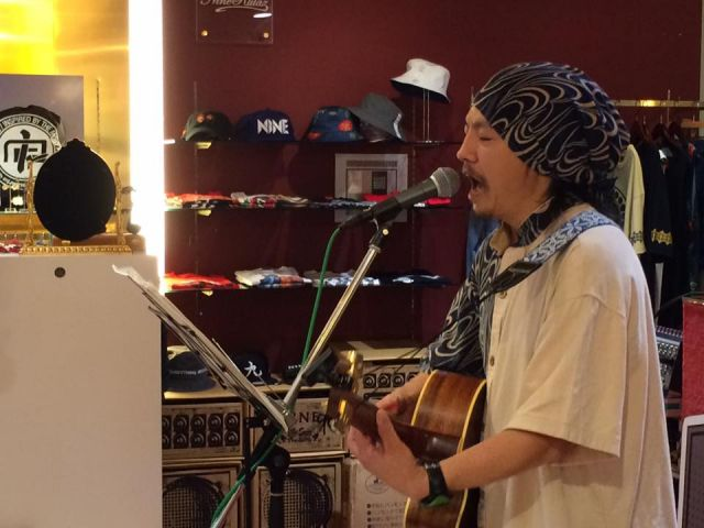 ☆GUAN CHAIさんIN STORE LIVE☆