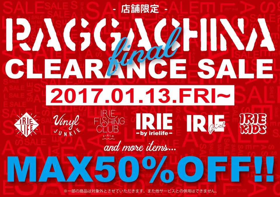 ☆Raggachina Final Clearance Sale☆