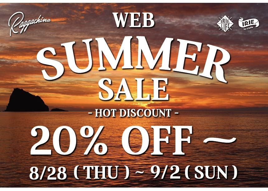 RAGGACHINA WEB SUMMER SALEスタート!!!