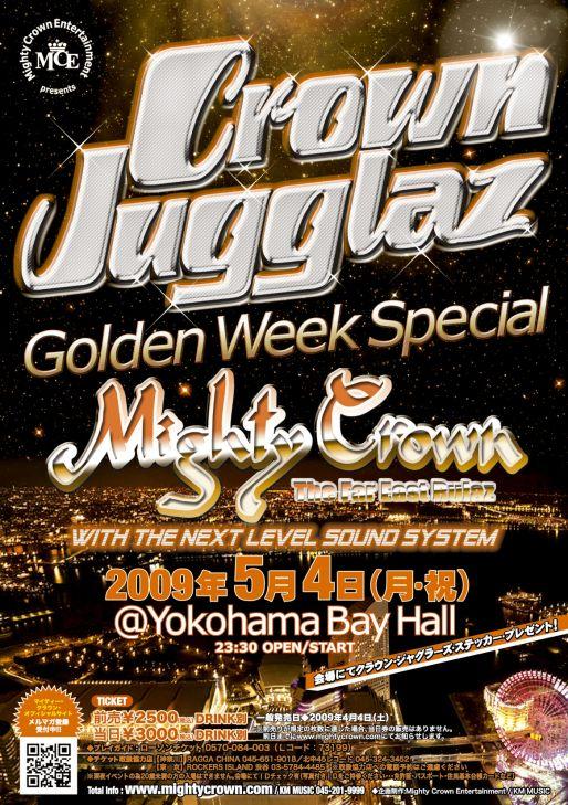 CROWN JUGGLAZ -Golden Week Special