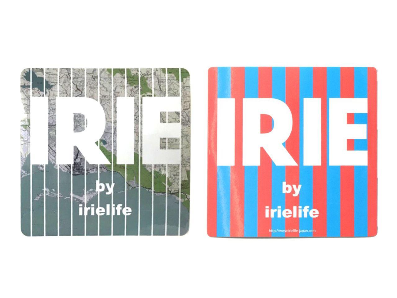 18AW WATER PROOF STICKER  -IRIE by irielife-
