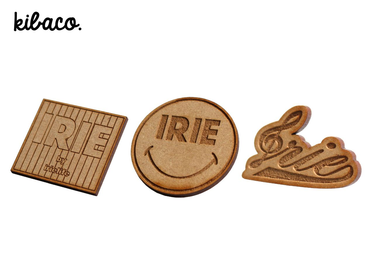 ×KIBACO WORKS IRIE WOOD PINS -IRIEby irielife-