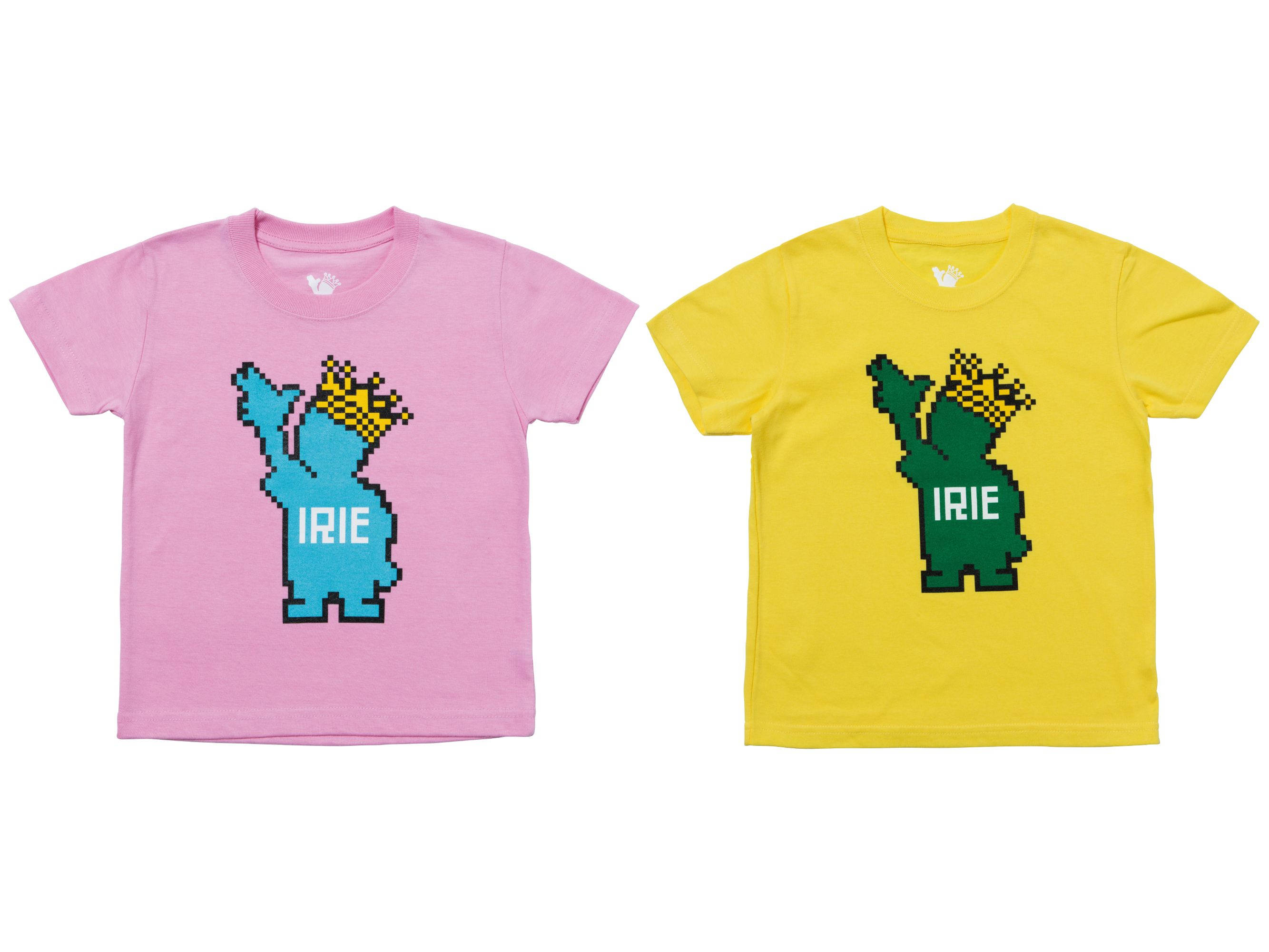 PIXEL POWKING KIDS TEE -IRIE for Kids-
