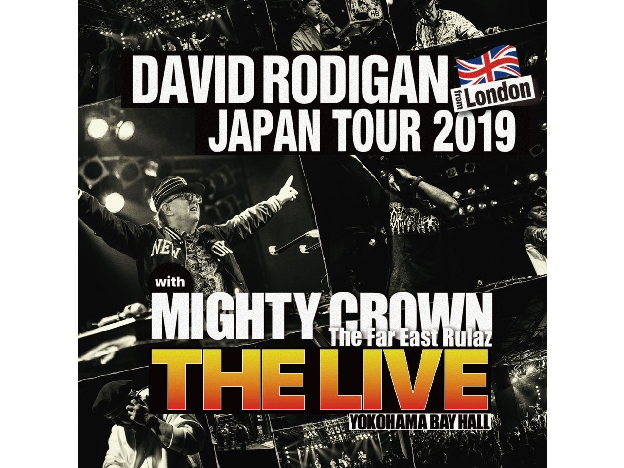 "DAVID RODIGAN JAPAN TOUR 2019 with MIGHTY CROWN ""THE LIVE"""