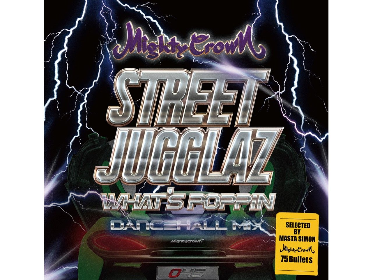 STREET JUGGLAZ WHAT'S POPPIN DANCEHALL MIX -  MIGHTY CROWN