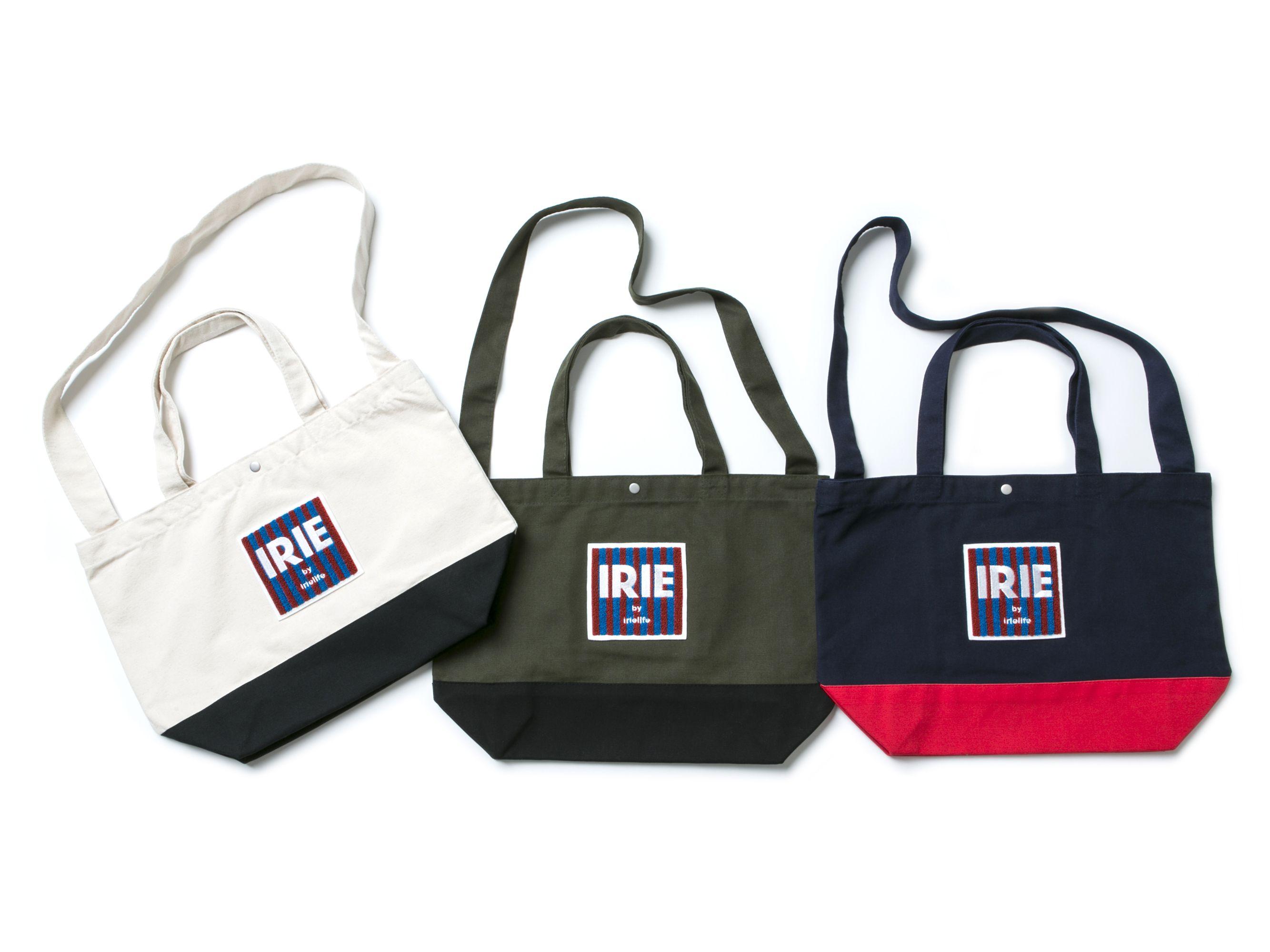 【SALE 30% OFF】 IRIE SAGARA LOGO TOTE BAG -IRIEby irielife-