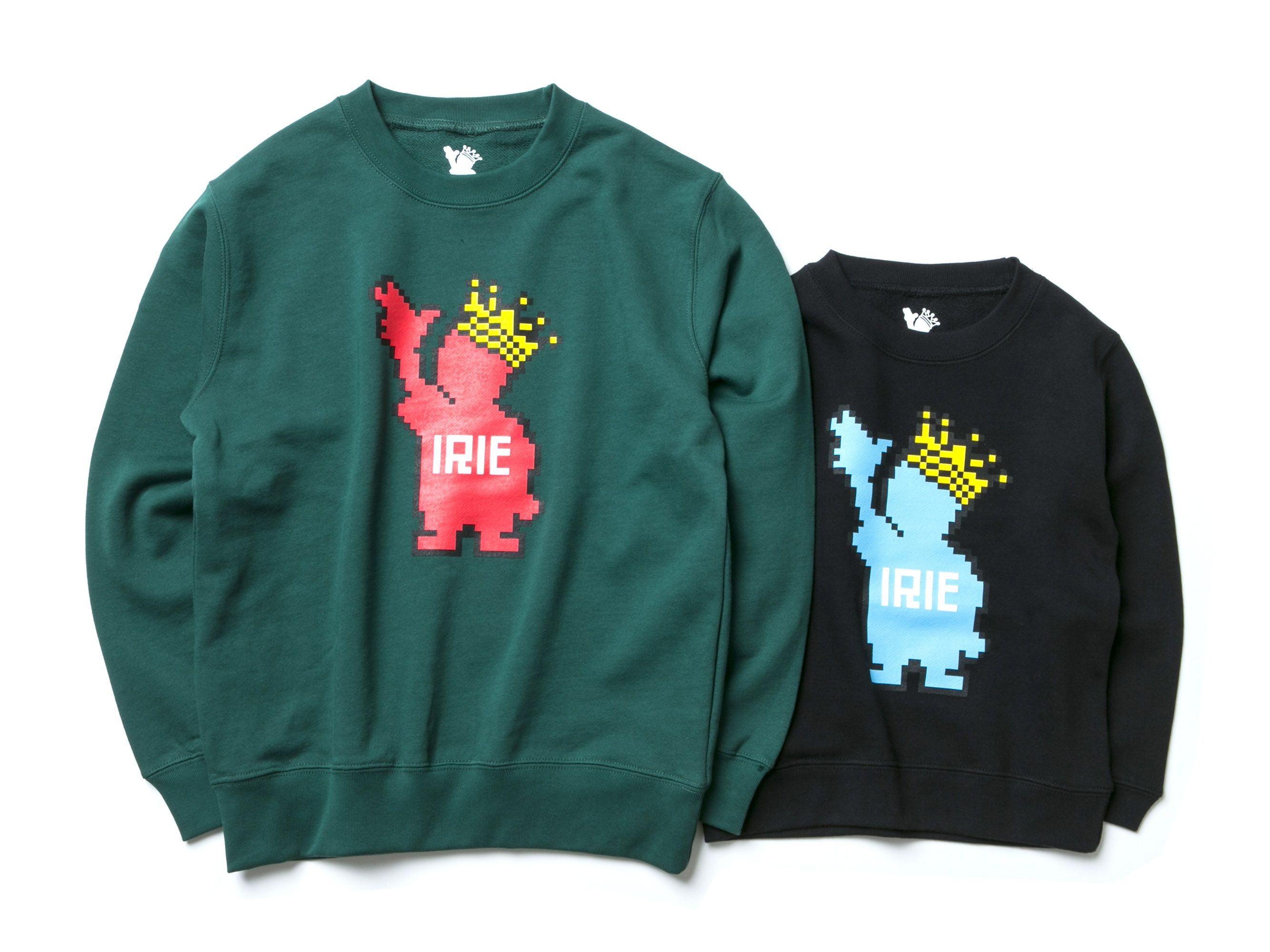 PIXEL POWKING KIDS CREW -IRIE for Kids-