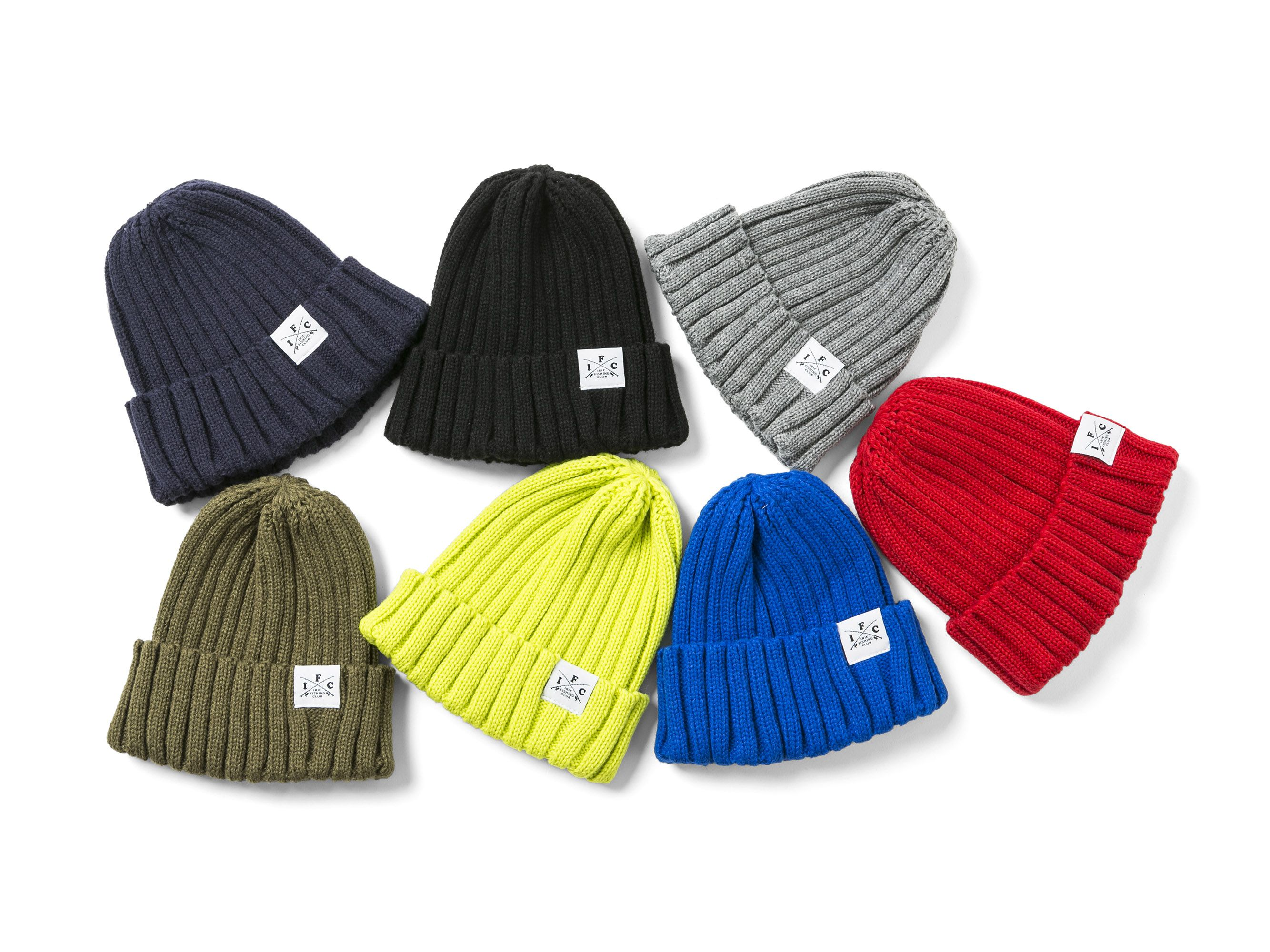【再入荷】CROSS ROD KNIT CAP -IRIE FISHING CLUB-