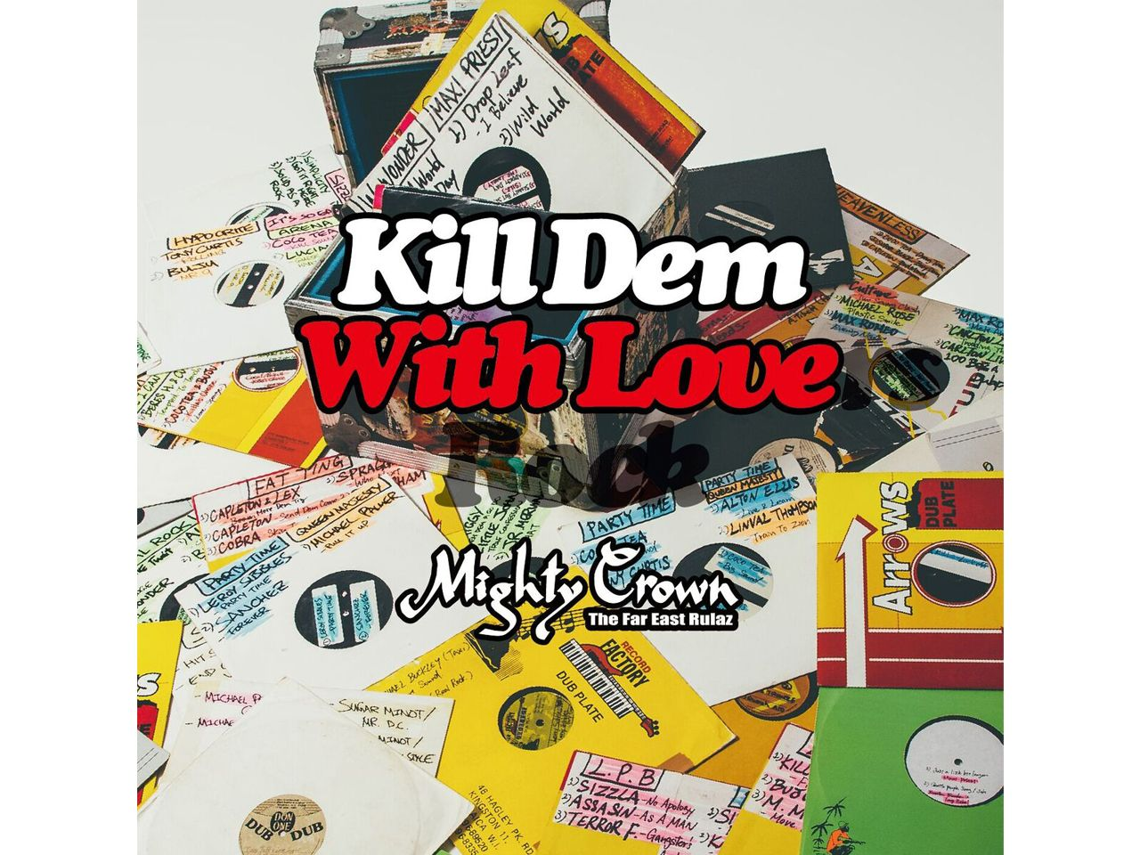 【再入荷】KILL DEM WITH LOVERS ROCK -MIGHTY CROWN-