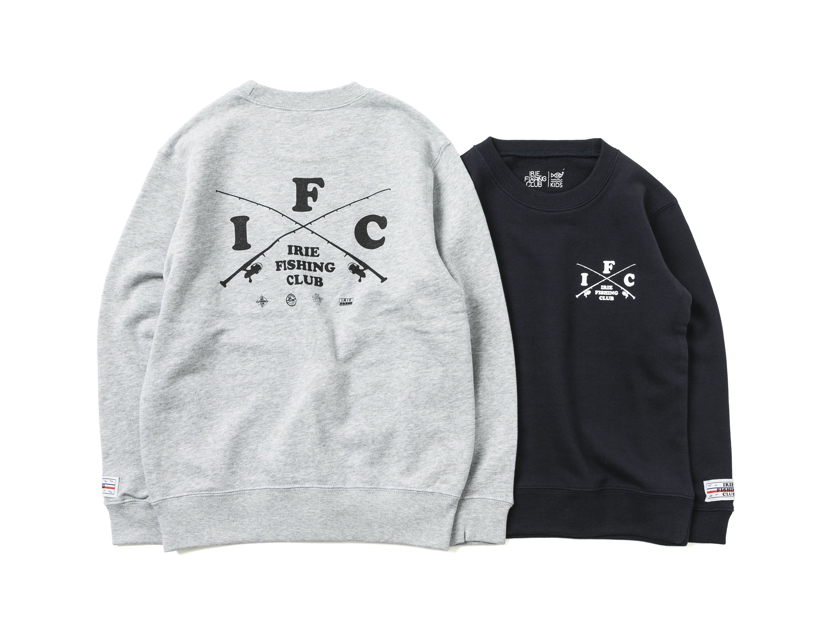 【KIDS】 CROSS ROD KIDS CREW -IRIE FISHING CLUB-