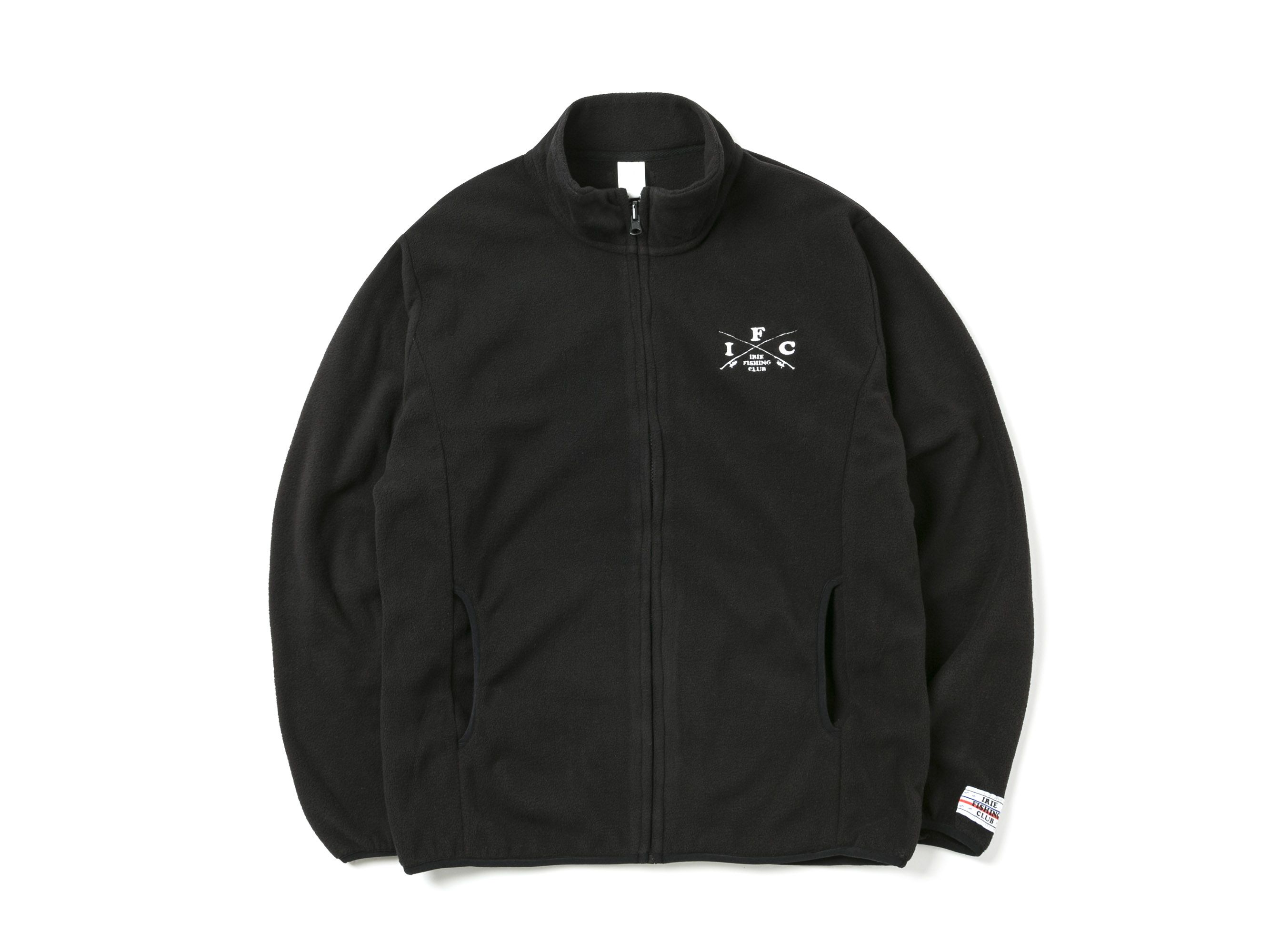 CROSS ROD FLEECE JACKET -IRIE FISHING CLUB-