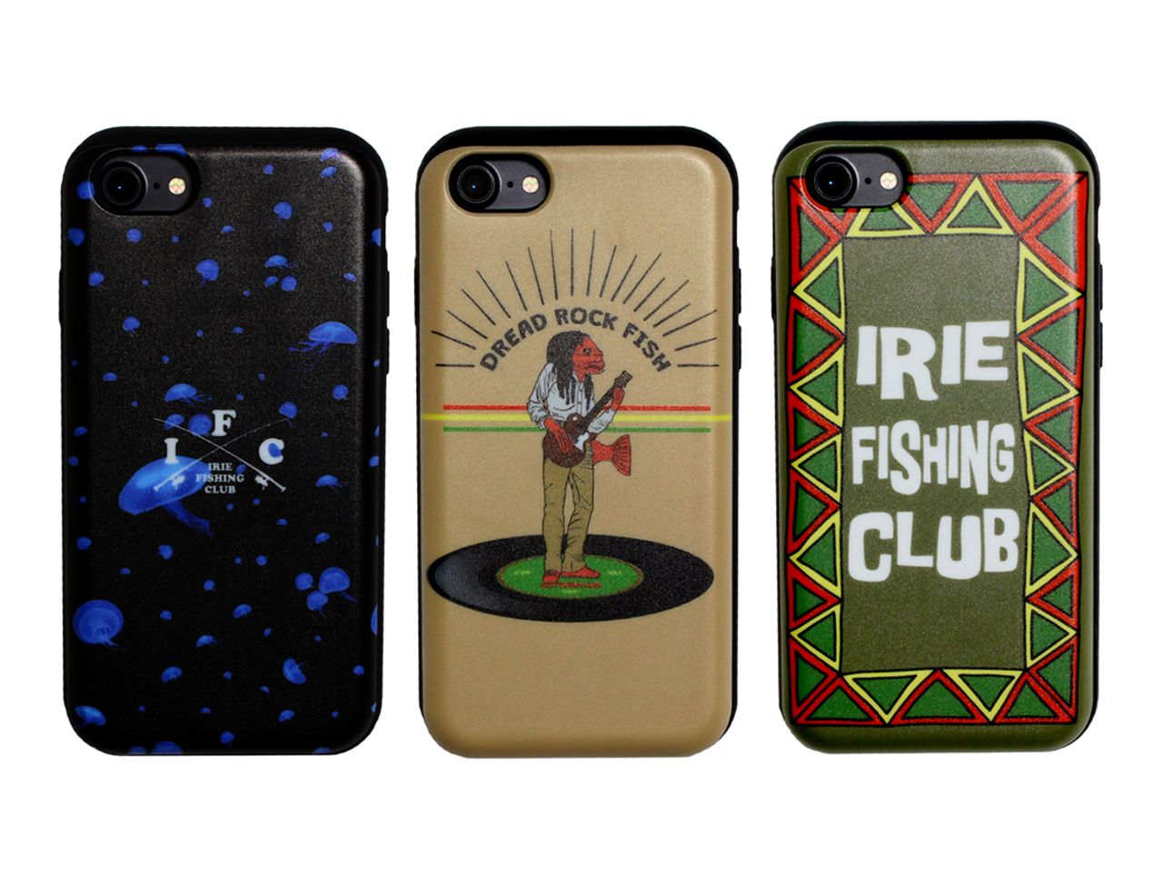I.F.C CARD SLIDE iPhone CASE -IRIE FISHING CLUB-
