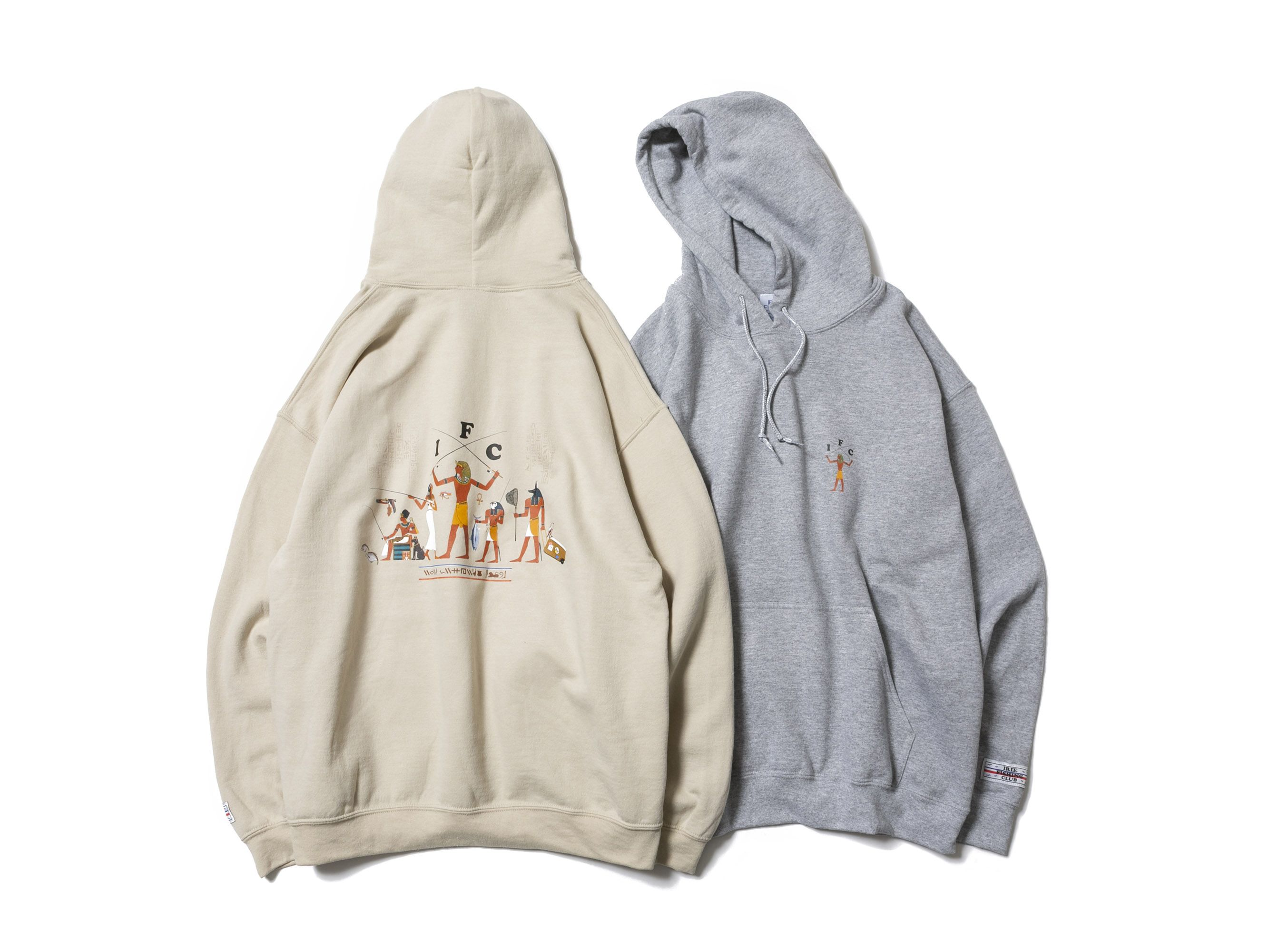 I.F.C PLAY OF GODS HOODIE -IRIE FISHING CLUB-