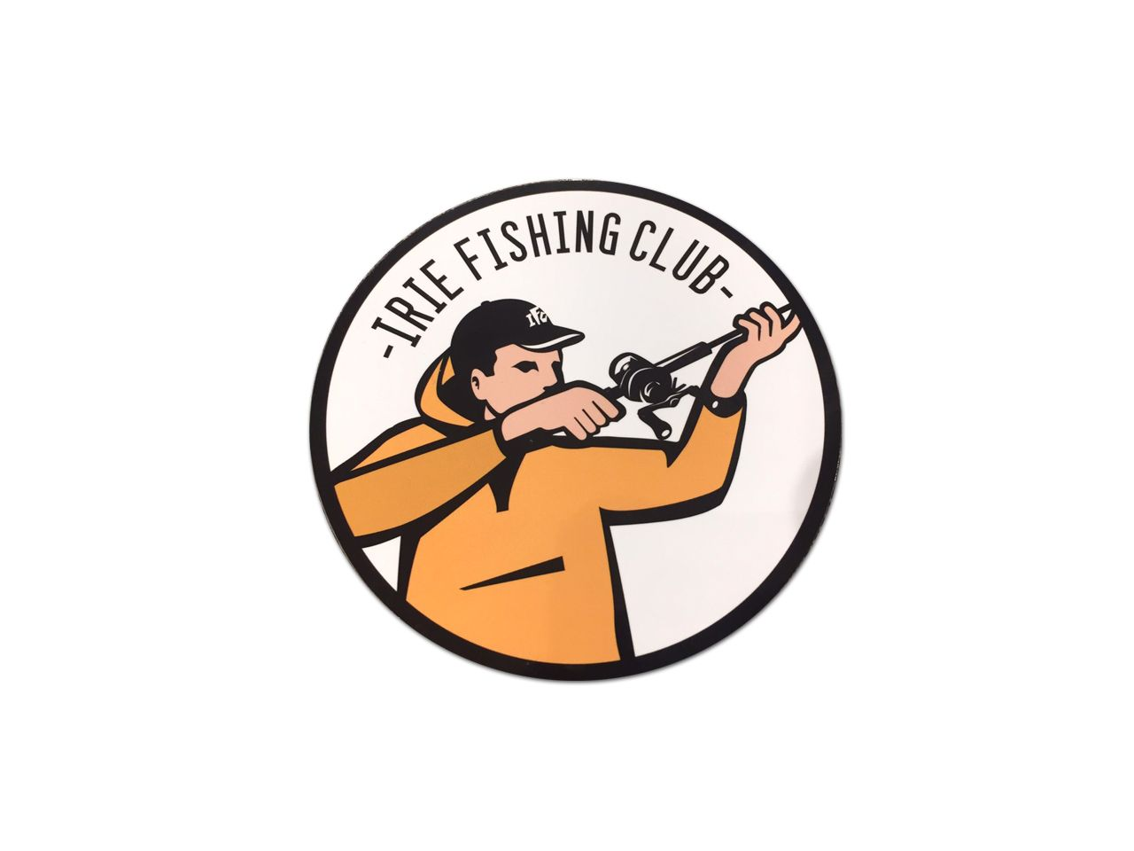 【再入荷】 I.F.C WATERPROOF STICKER【SNIPERBOY】 -IRIE FISHING CLUB-