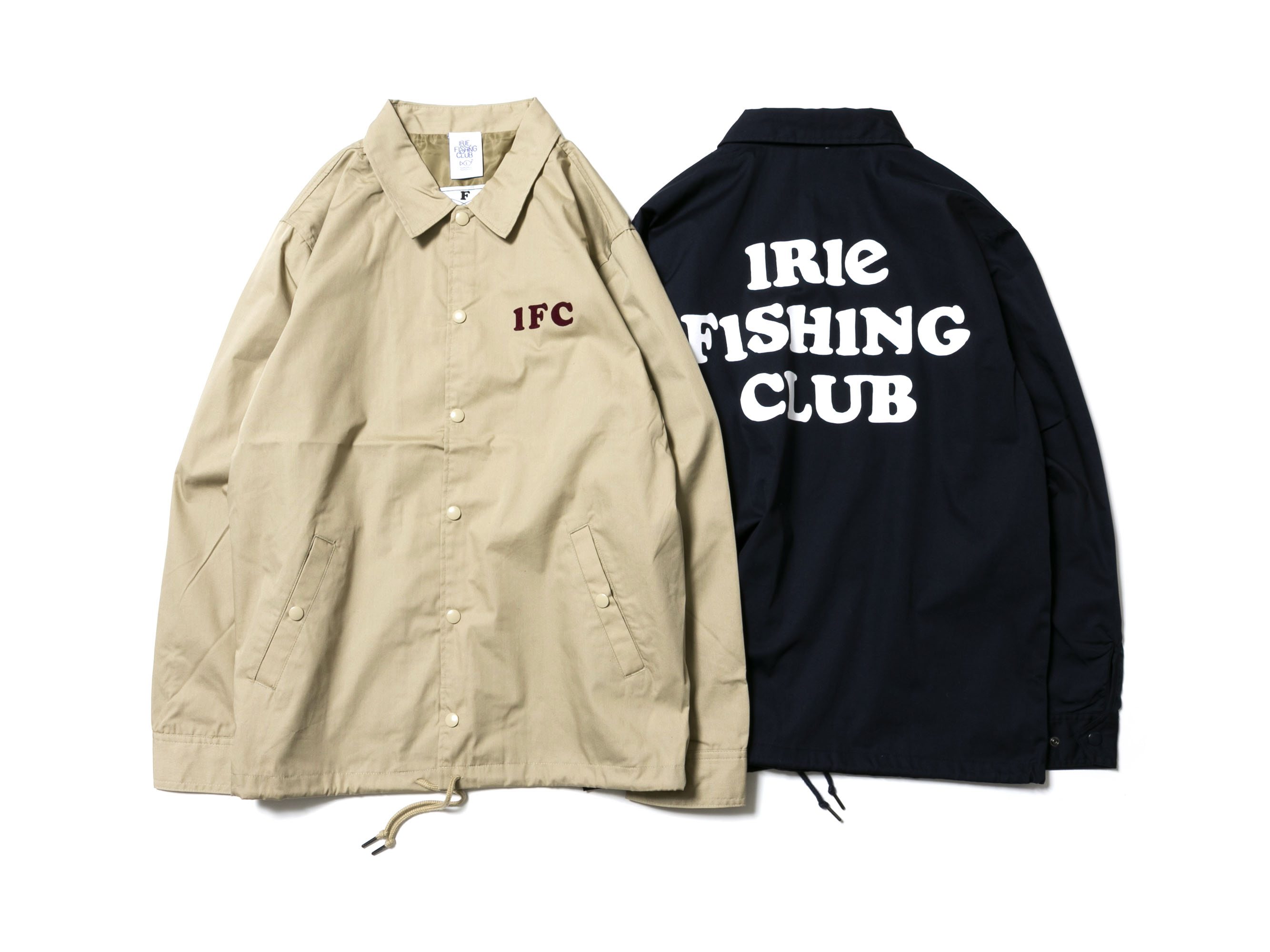 IRIE FISHING CLUB COACH JACKET -IRIE FISHING CLUB-