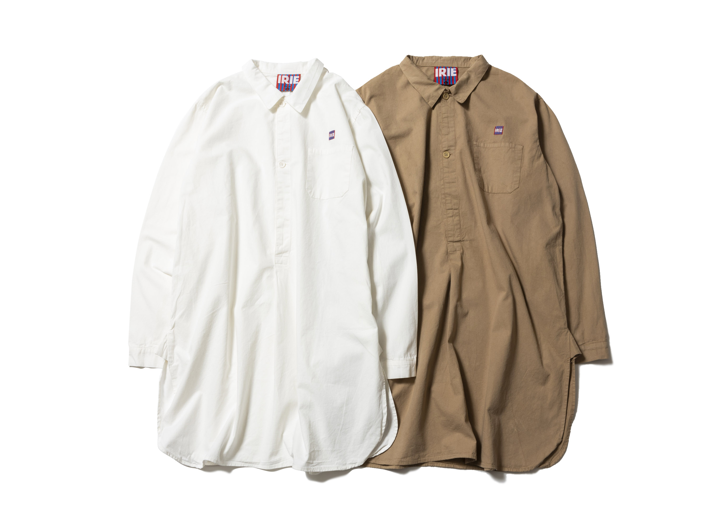 【20% OFF】PULL OVER LONG SHIRT -IRIE by irielife-