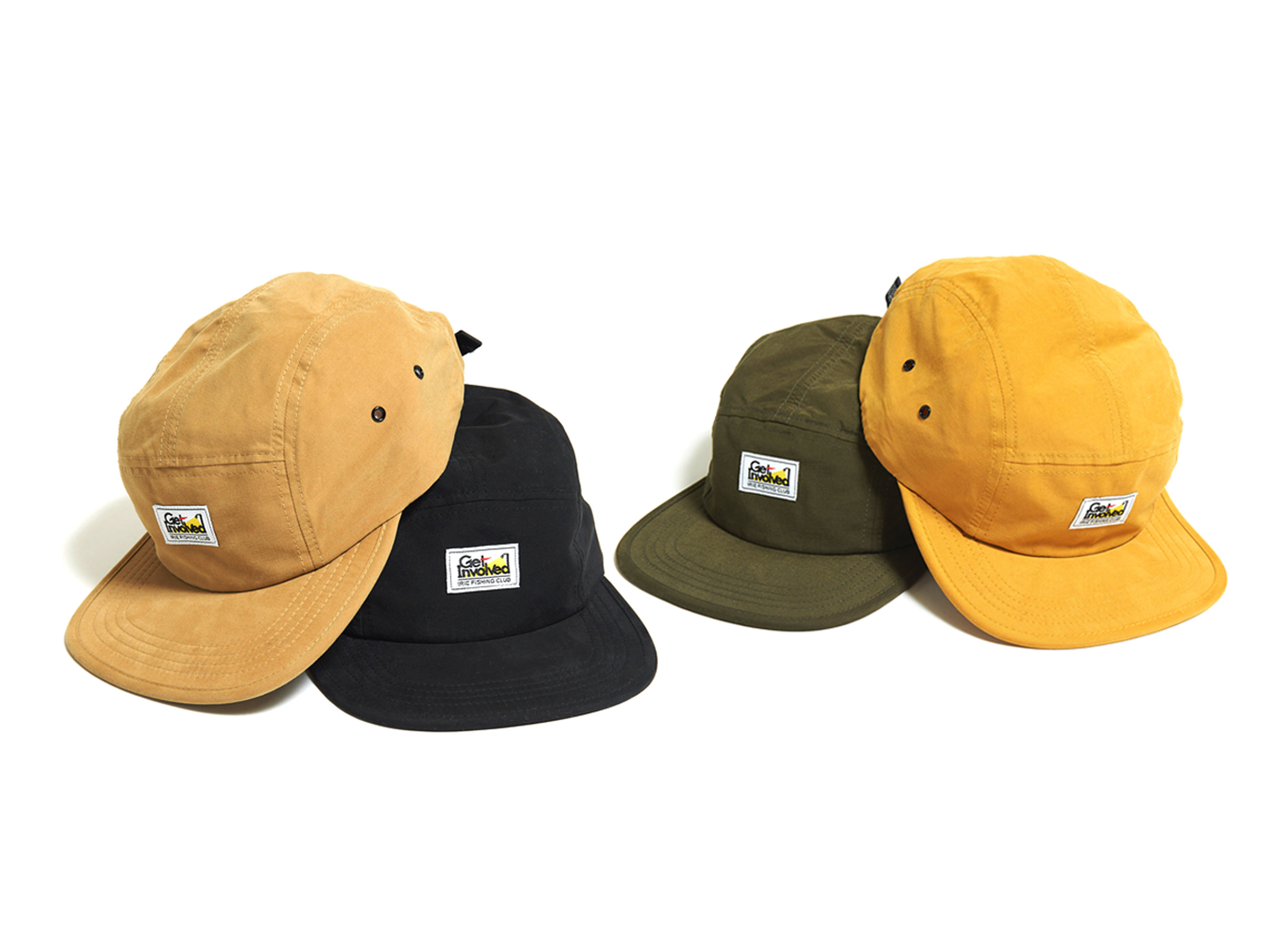 ×TICT GET INVOLVED JET CAP -IRIE FISHING CLUB-