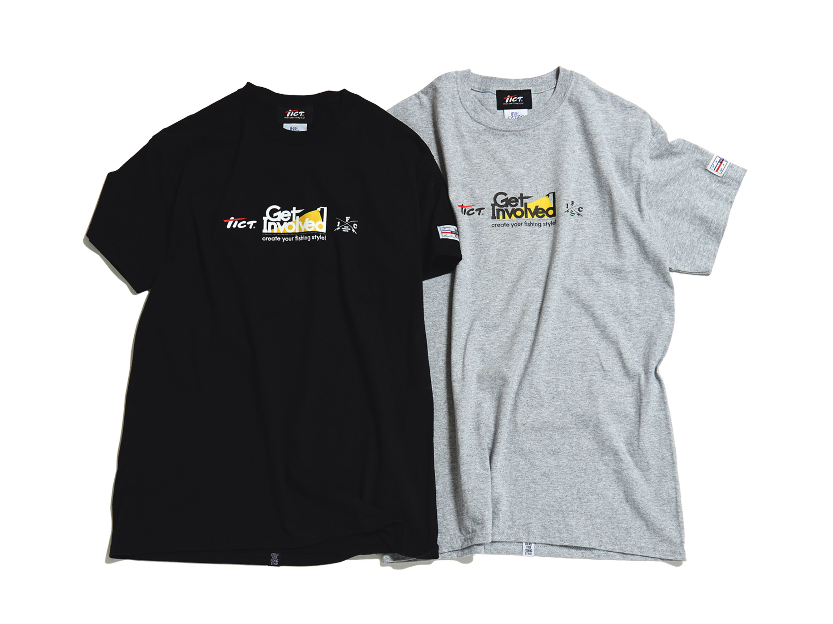 ×TICT GET INVOLVED TEE -IRIE FISHING CLUB-