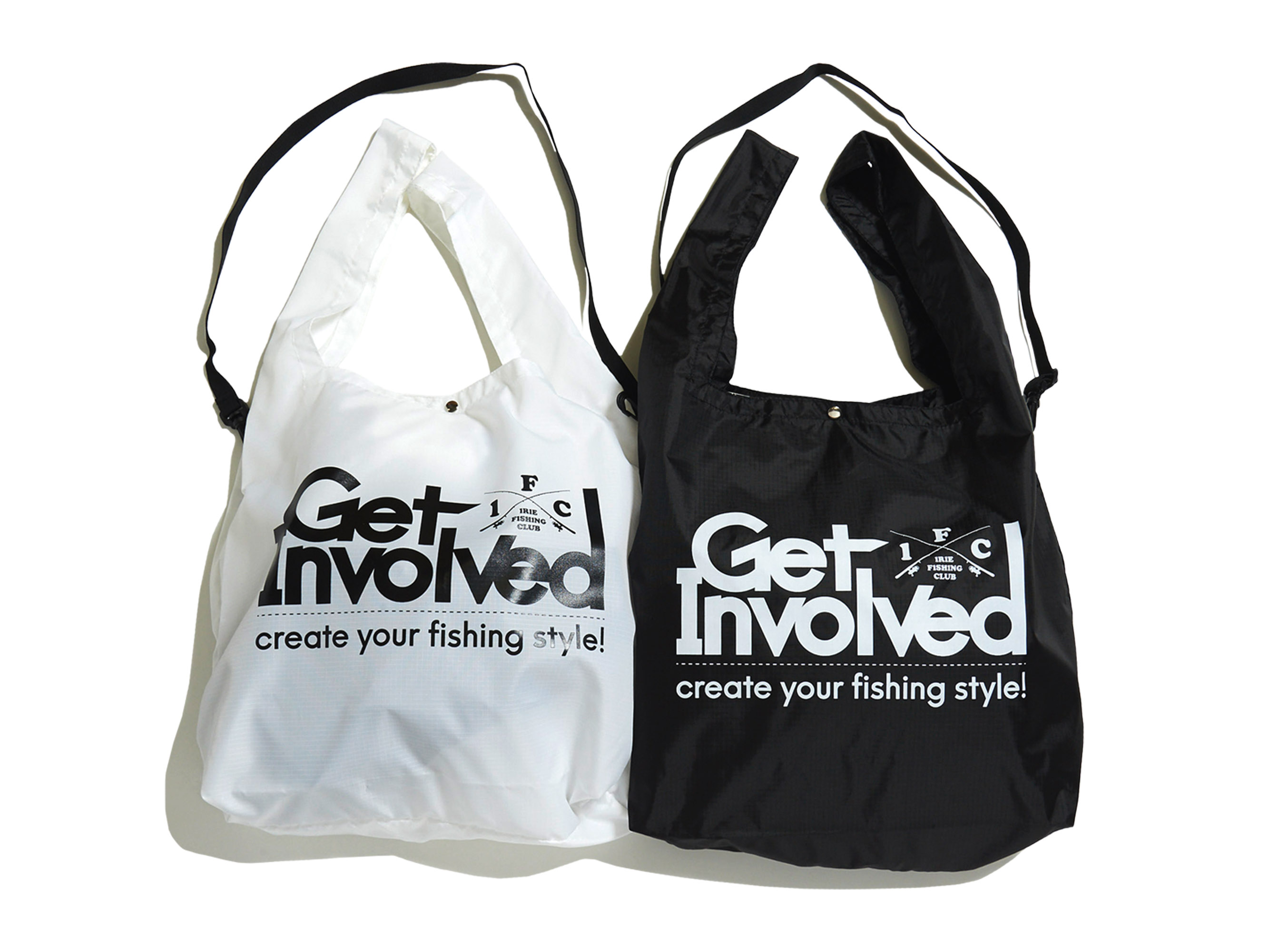 ×TICT GET INVOLVED NYLON BAG -IRIE FISHING CLUB-