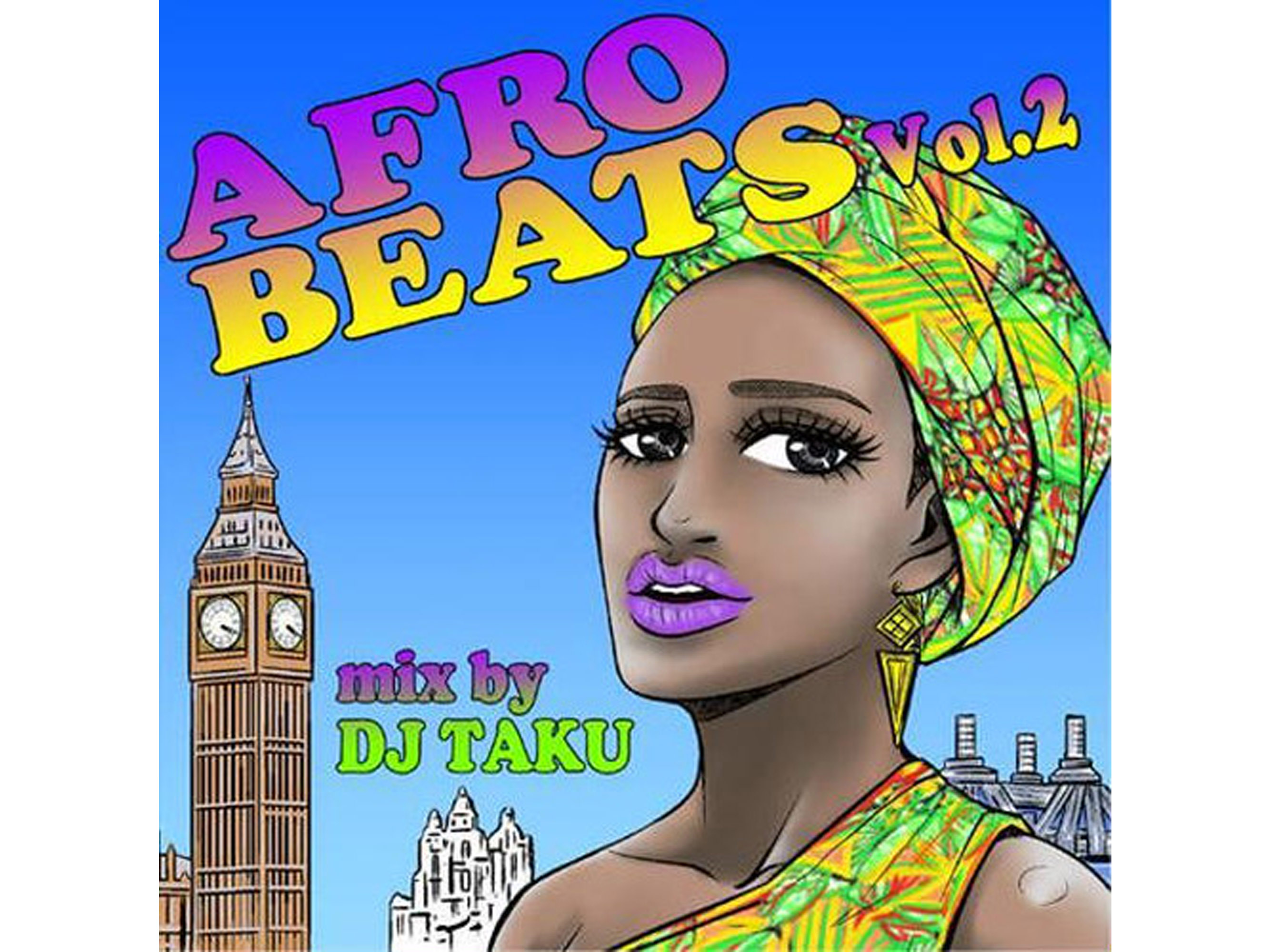AFRO BEATS vol.2 -mix by DJ TAKU(EMPEROR)-