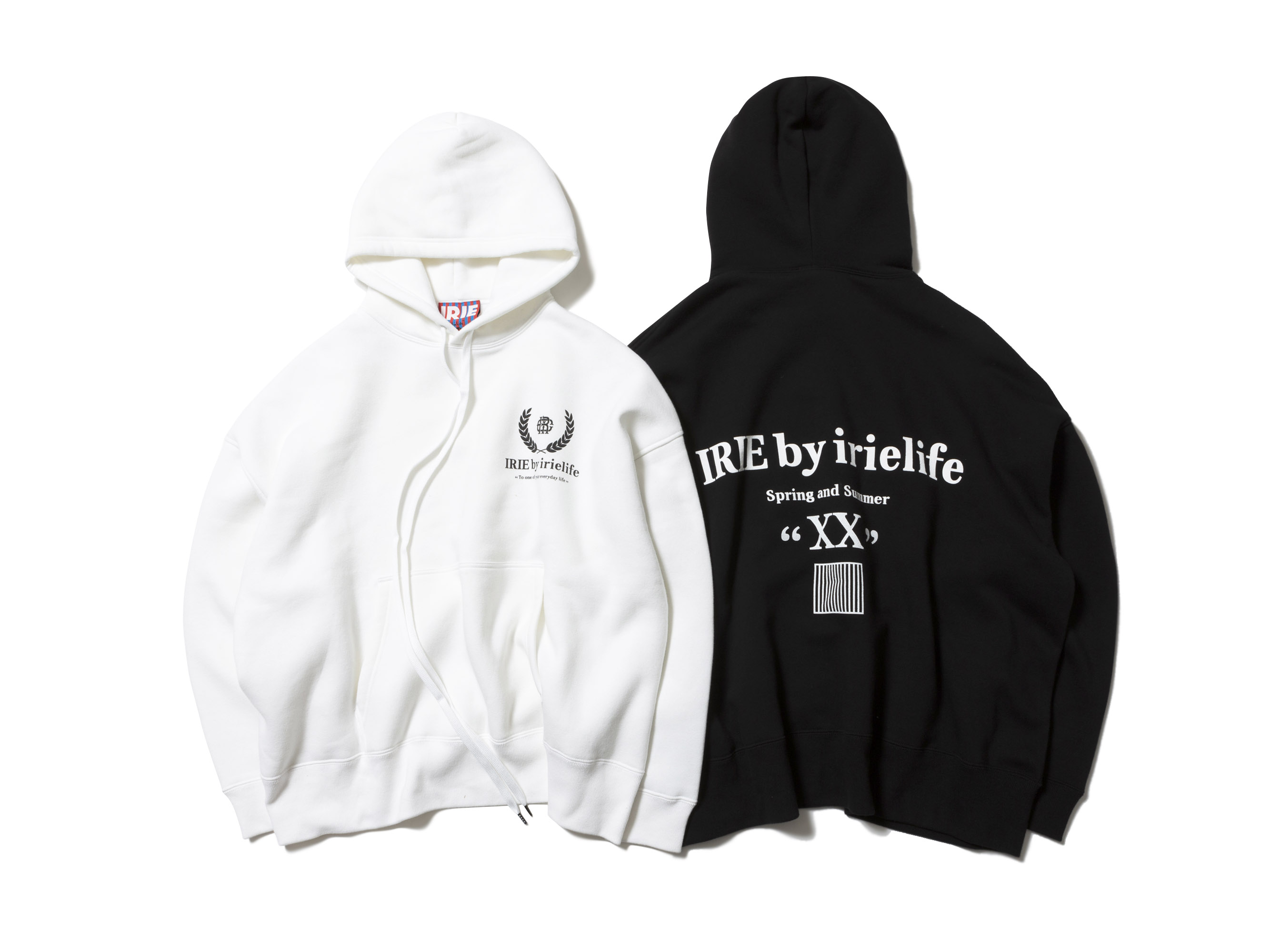 LONG CORD BIG HOODIE -IRIE by irielife-