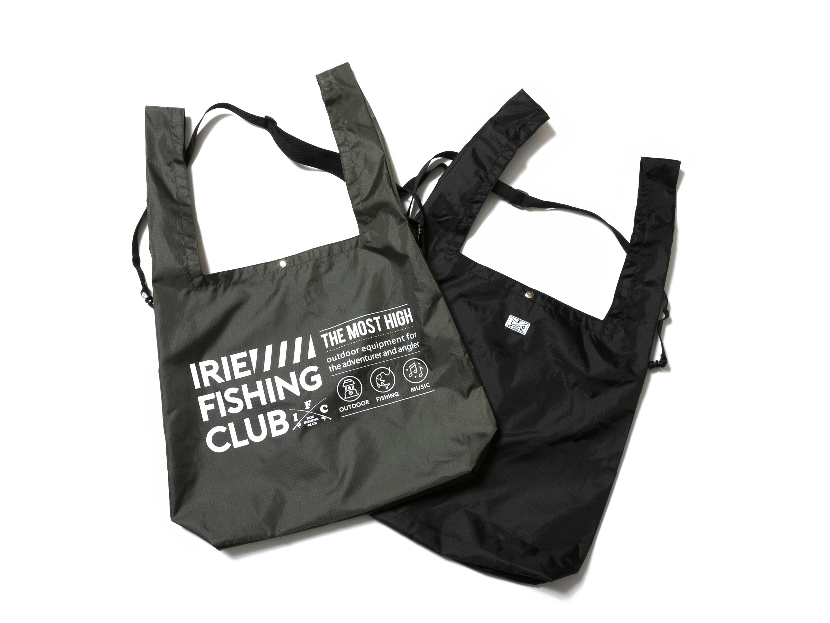 I.F.C MARCHE BAG -IRIE FISHING CLUB-