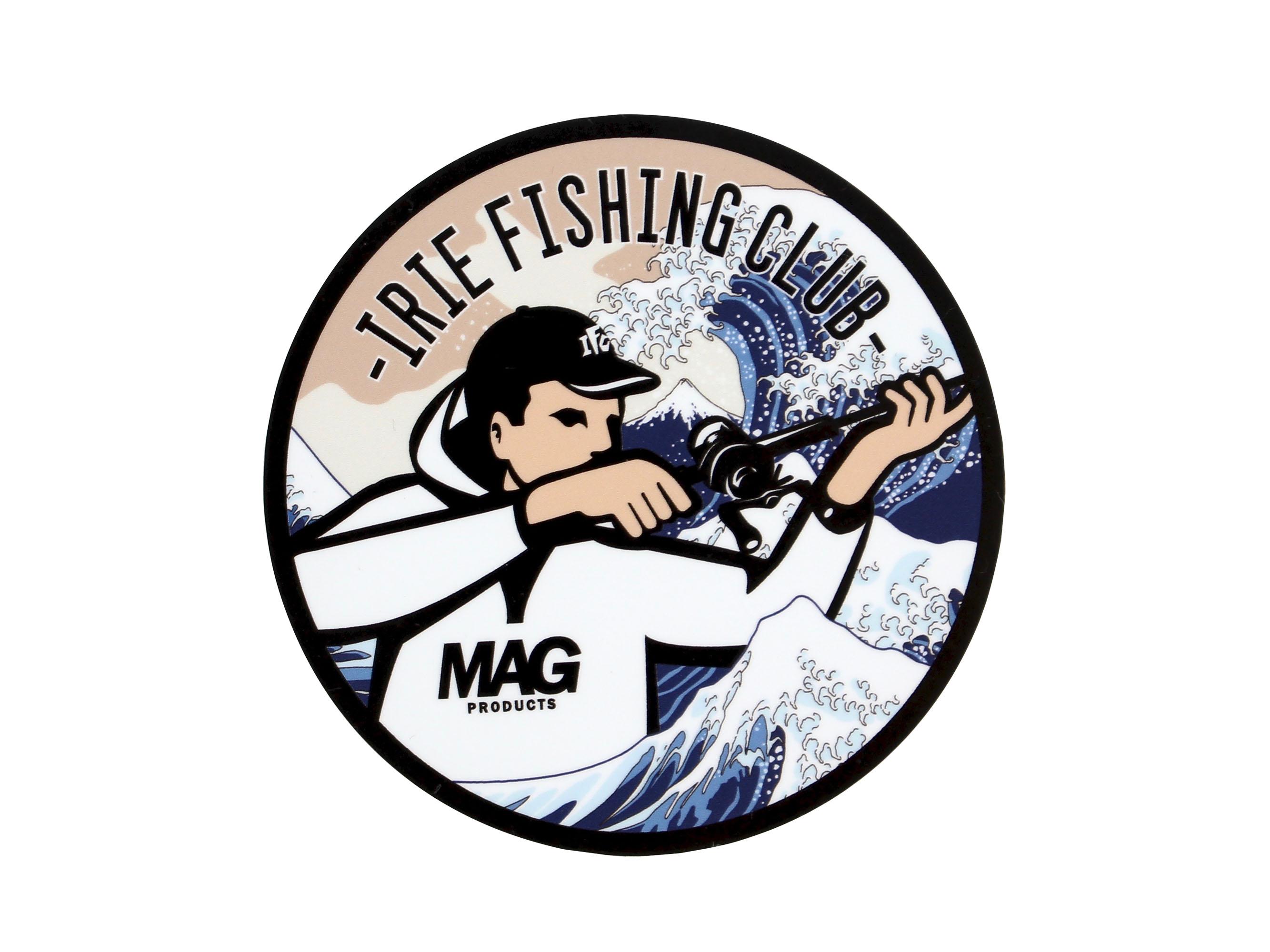 ×MAG BITE SNIPER BOY WATER PROOF STICKER【HOKUSAI】-IRIE FISHING CLUB-