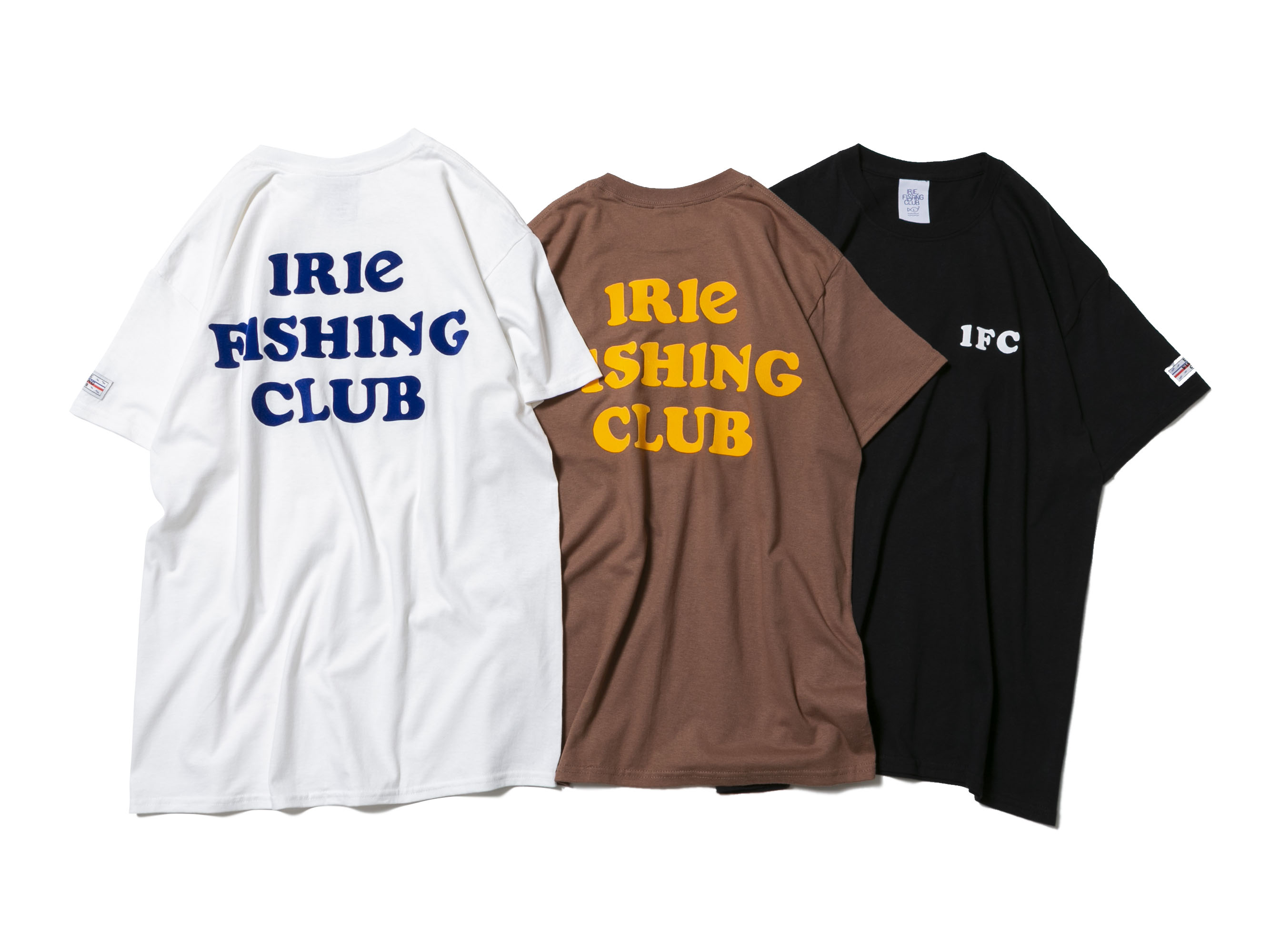 IRIE FISHING CLUB TEE - IRIE FISHING CLUB-