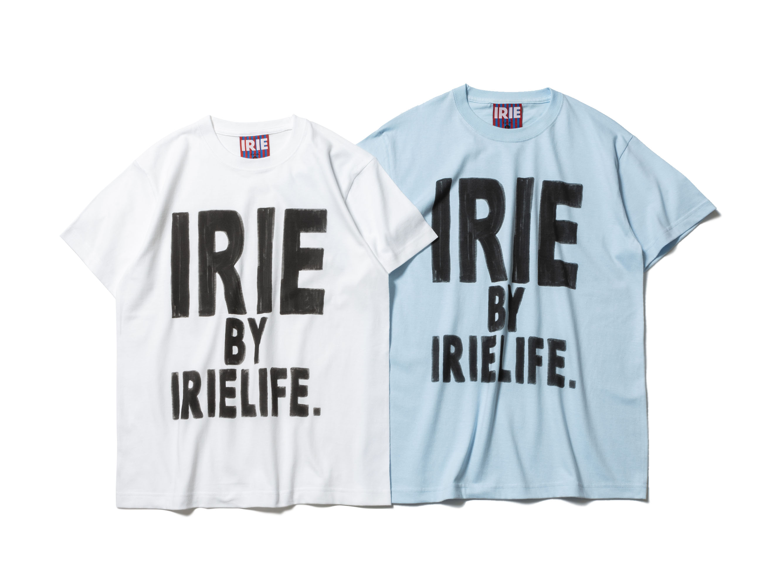 【30% OFF】BLEEDING LOGO TEE -IRIE by irielife-