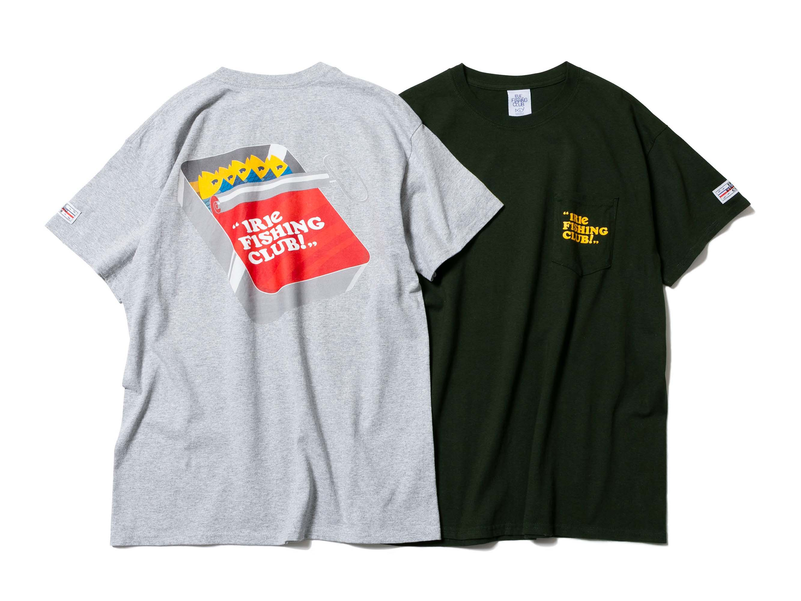 CANNED FISH POCKET TEE - IRIE FISING CLUB