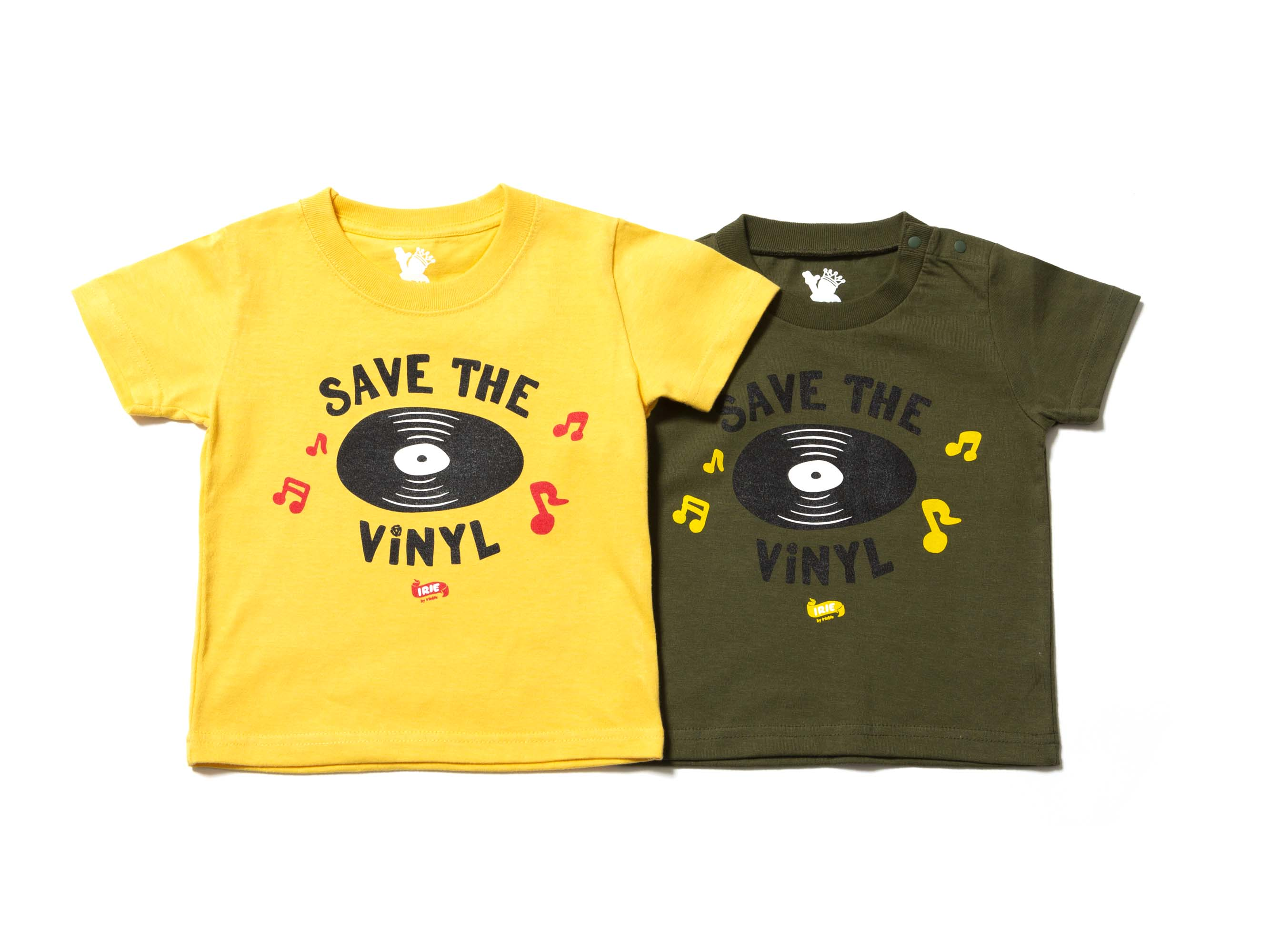【20% OFF】SAVE THE VINYL KIDS TEE - IRIE KIDS
