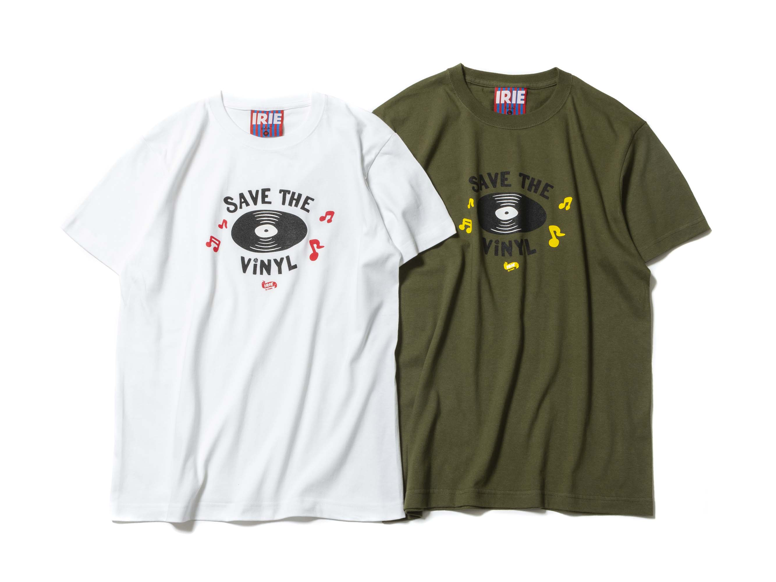 SAVE THE VINYL TEE - IRIE by irielife