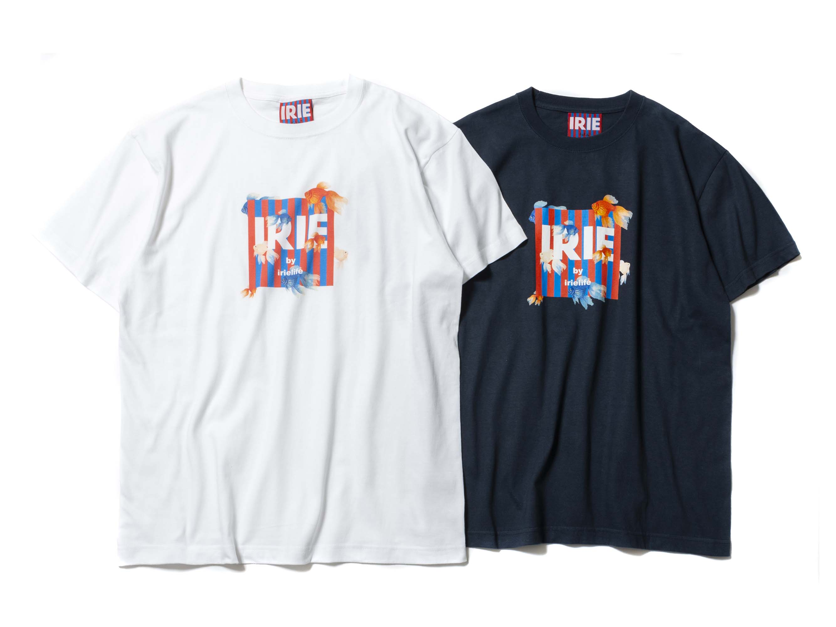 GOLDFISH LOGO TEE - IRIE by irielife