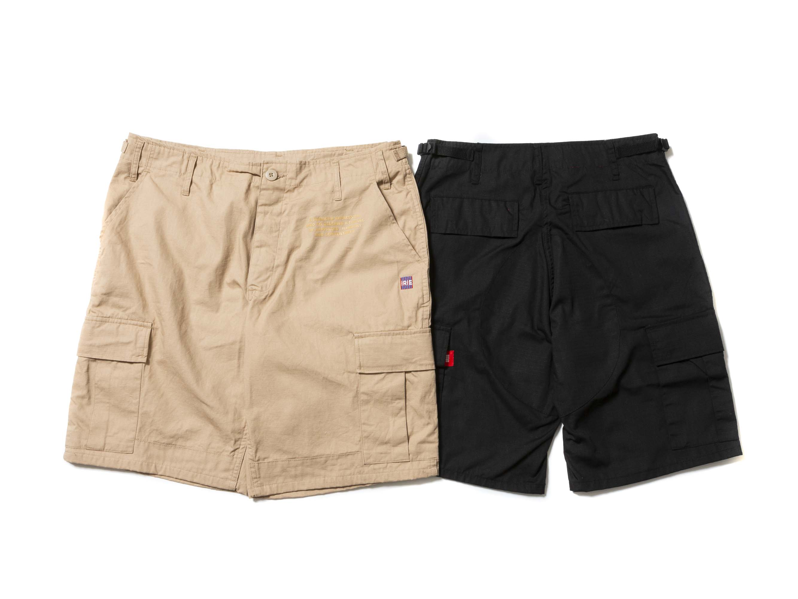 【30% OFF】RIPSTOP CARGO SHORTS - IRIE by irielife