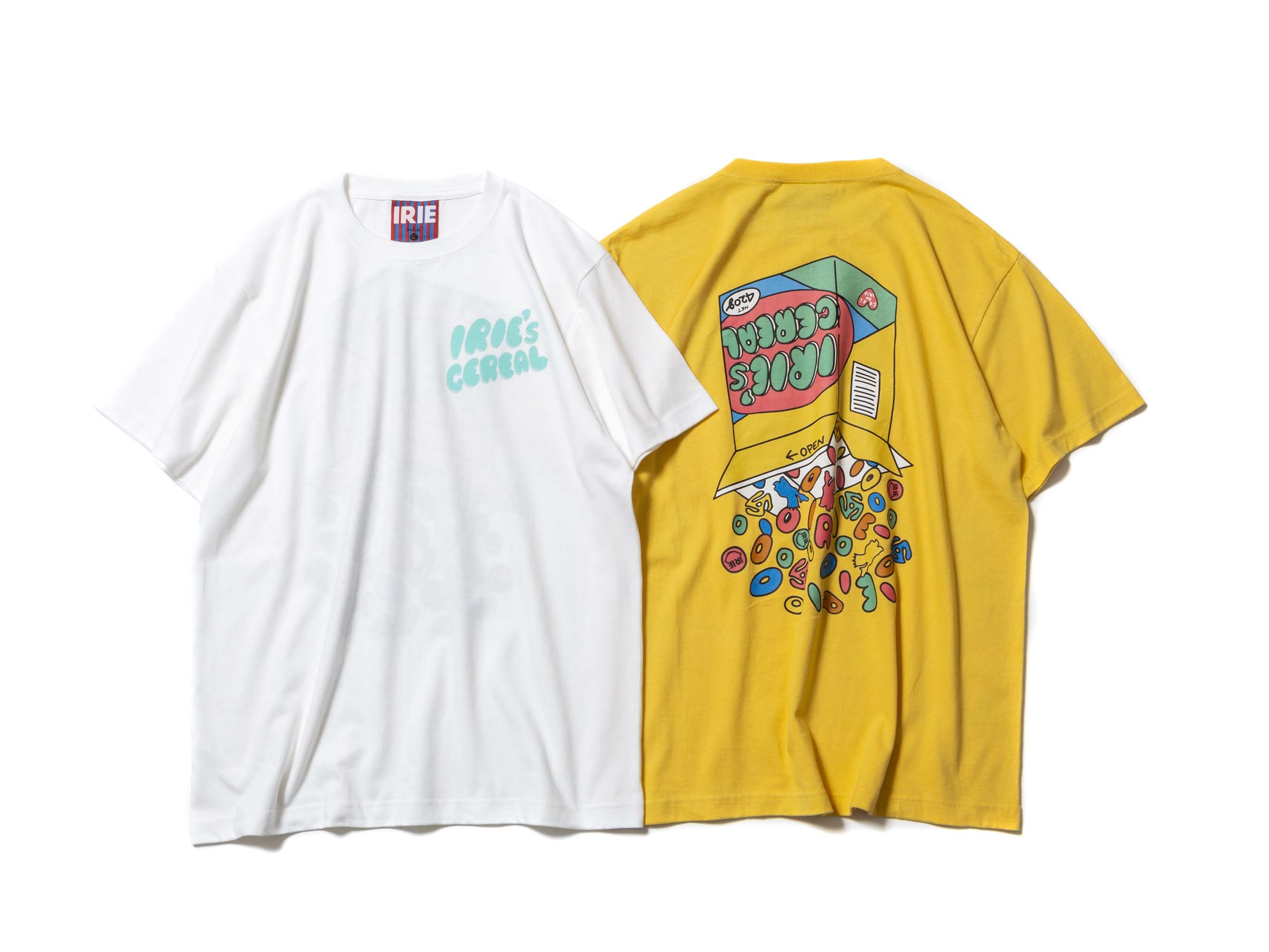IRIE`S CEREAL TEE - IRIE by irielife