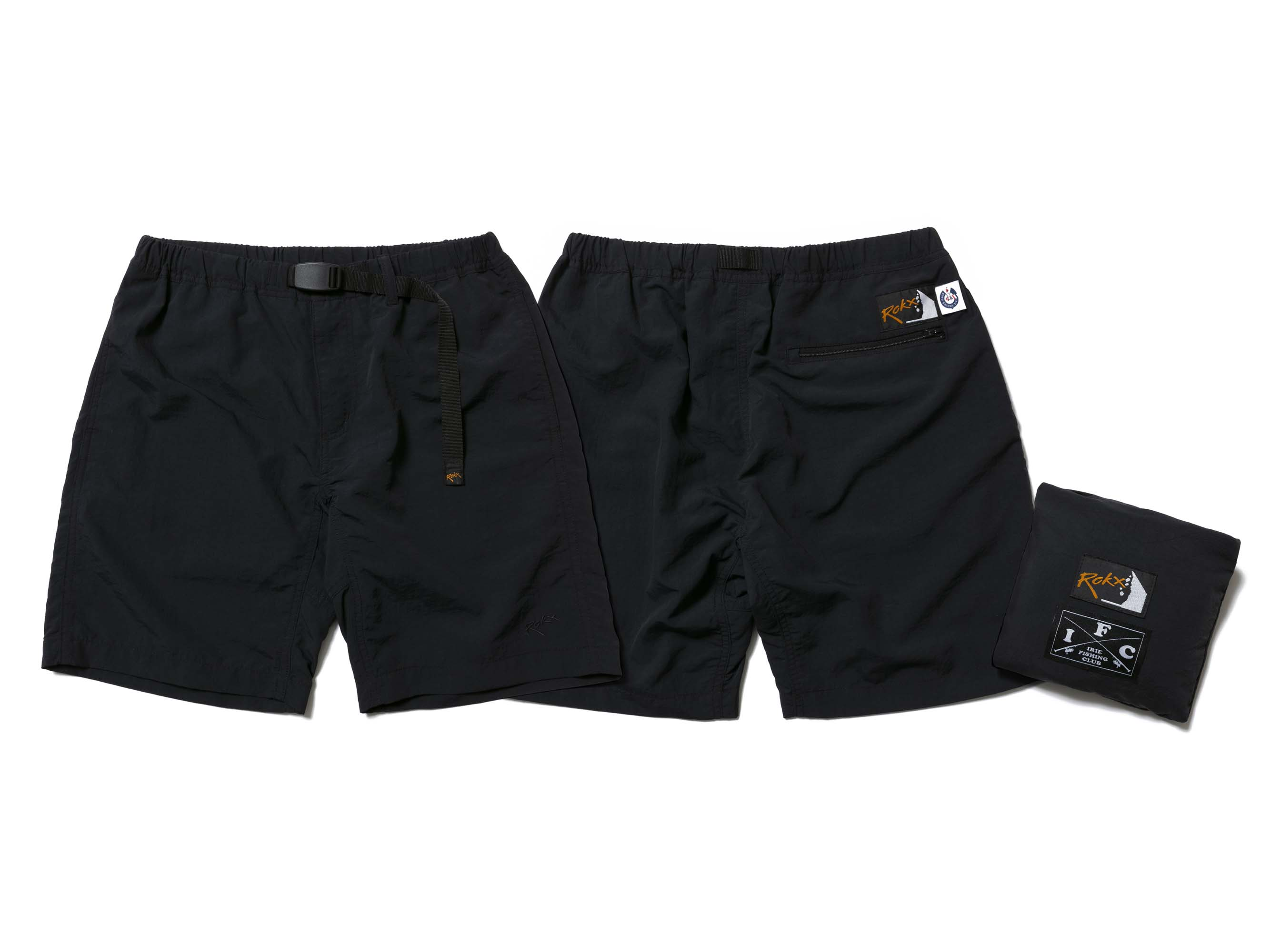 CROSS ROD PACKABLE  SHORTS - IRIE FISHING CLUB