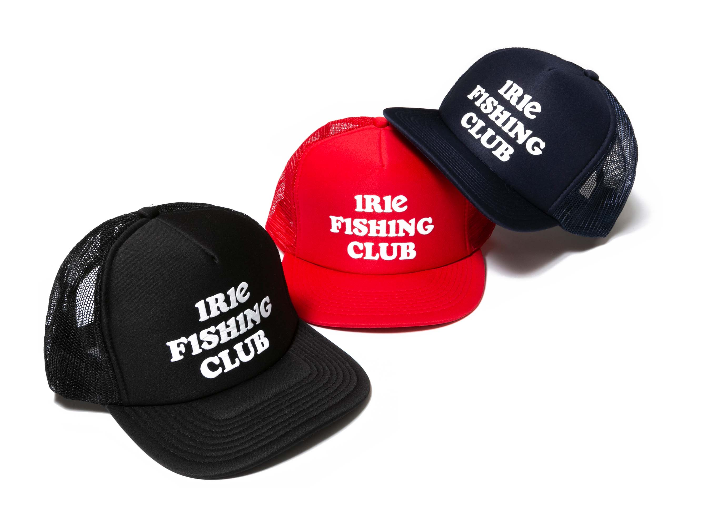 IRIE FISHING CLUB MESH CAP - IRIE FISHING CLUB
