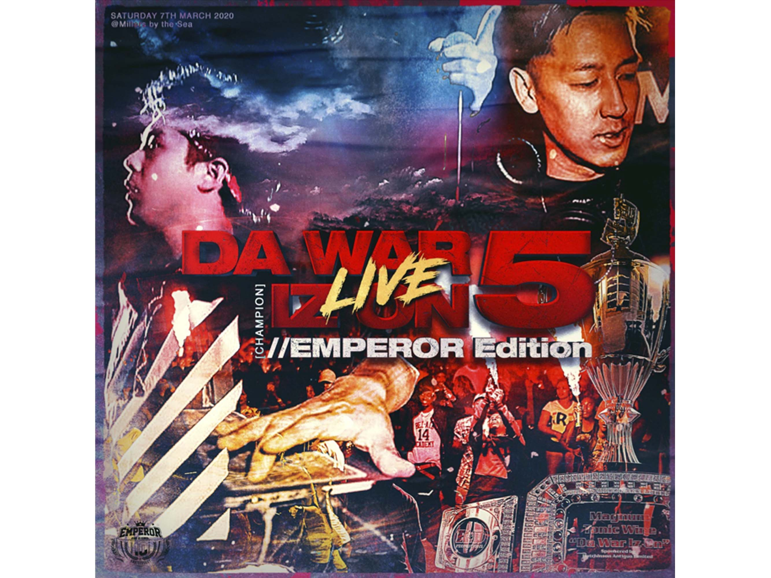 DA WAR IZ ON 5 LIVE ・ EMPEROR EDITION - EMPEROR