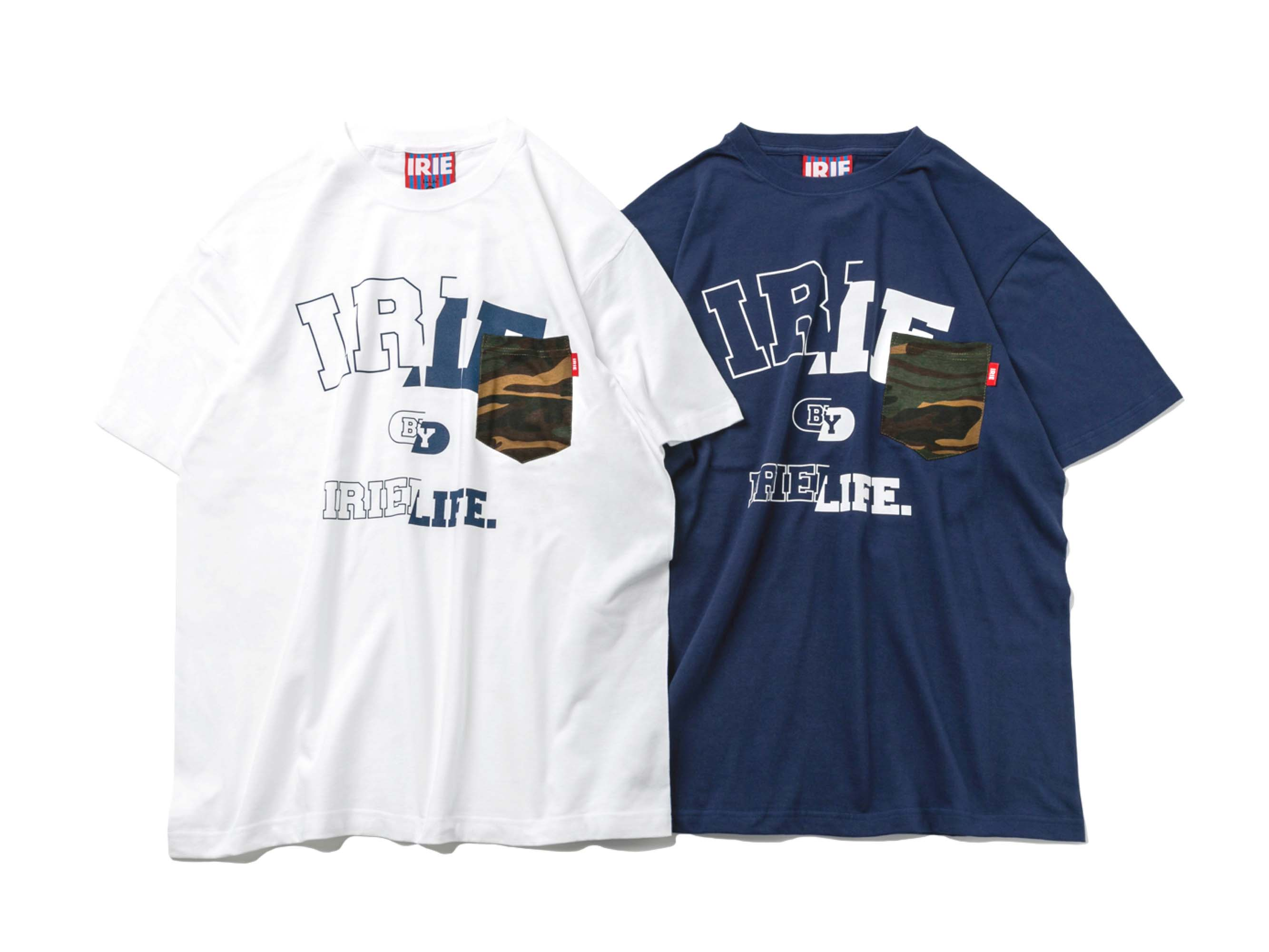 IRIE COLLEGE LOGO POCKET TEE - IRIE by Irielife
