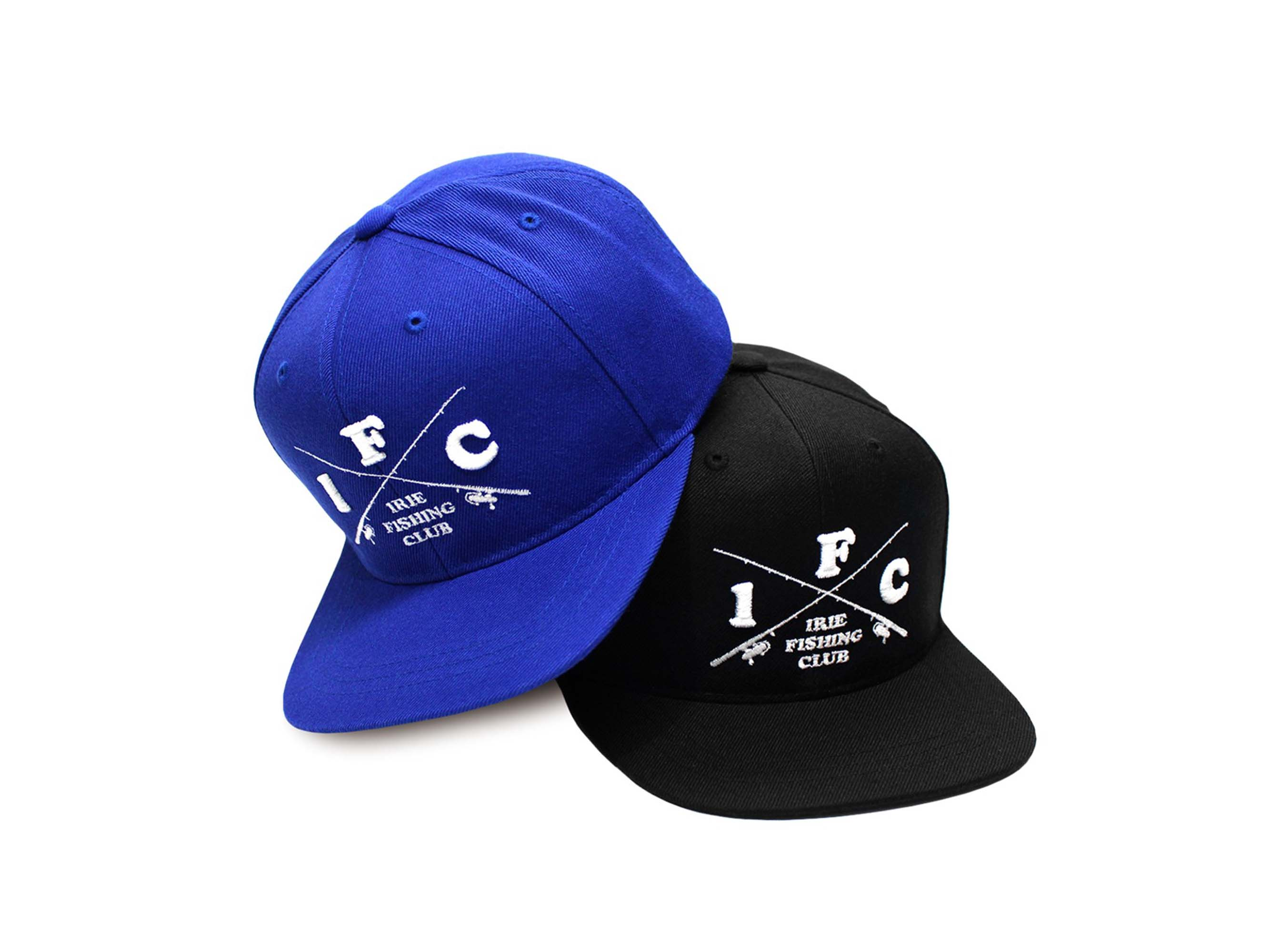【KIDS】CROSS ROD SNAP BACK CAP for KIDS - IRIE FISHING CLUB-
