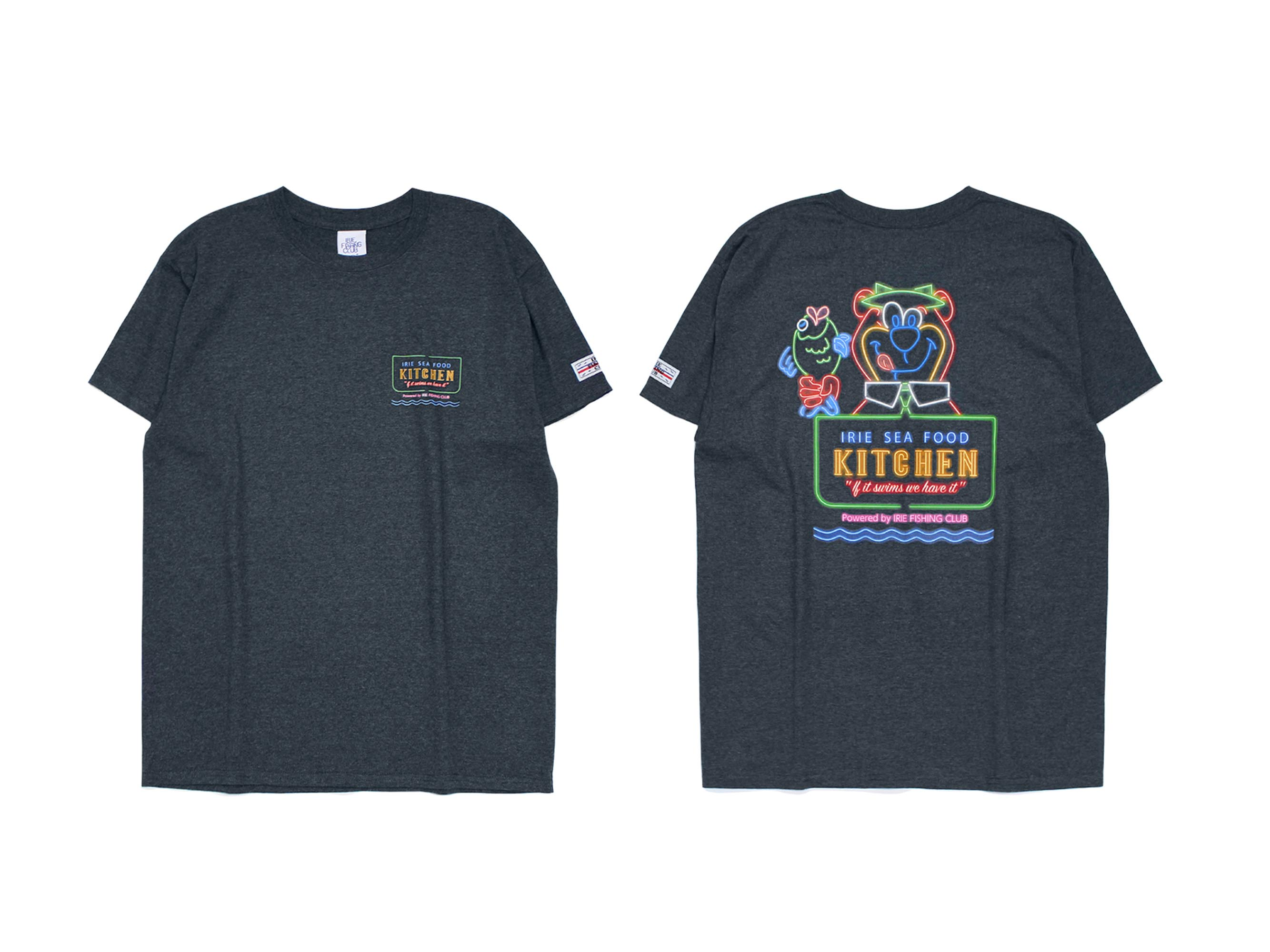IRIE SEAFOOD KITCHEN TEE - IRIE FISHING CLUB