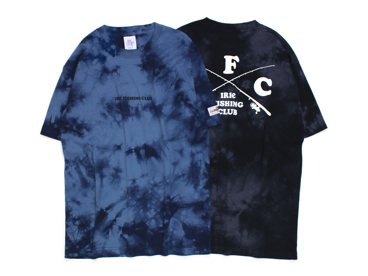 CROSS RDO TIE DYE TEE - IRIE FISHING CLUB