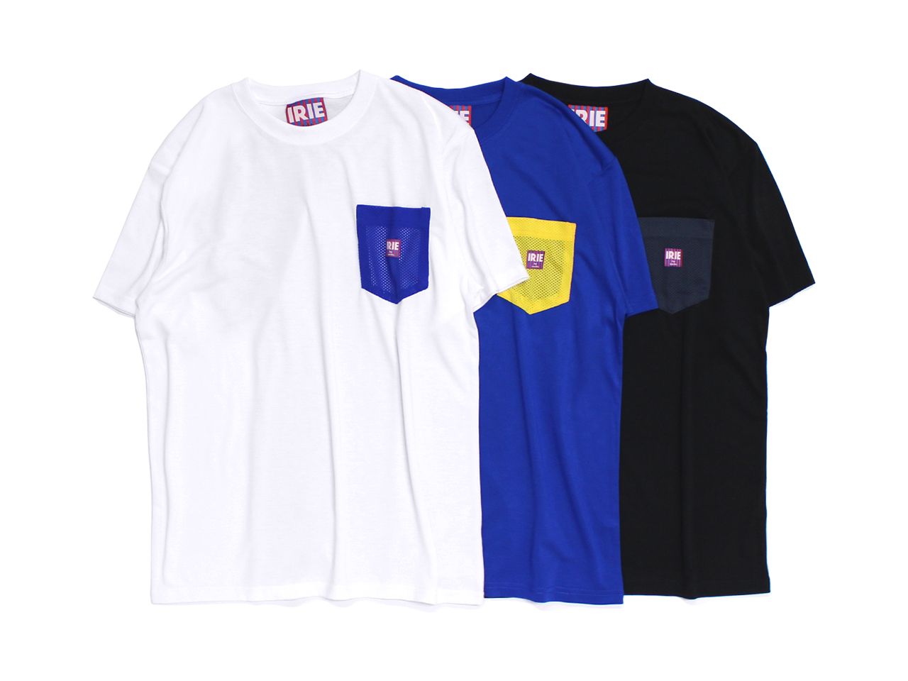 【20% OFF】DRY MESH POCKET TEE - IRIE by irielife